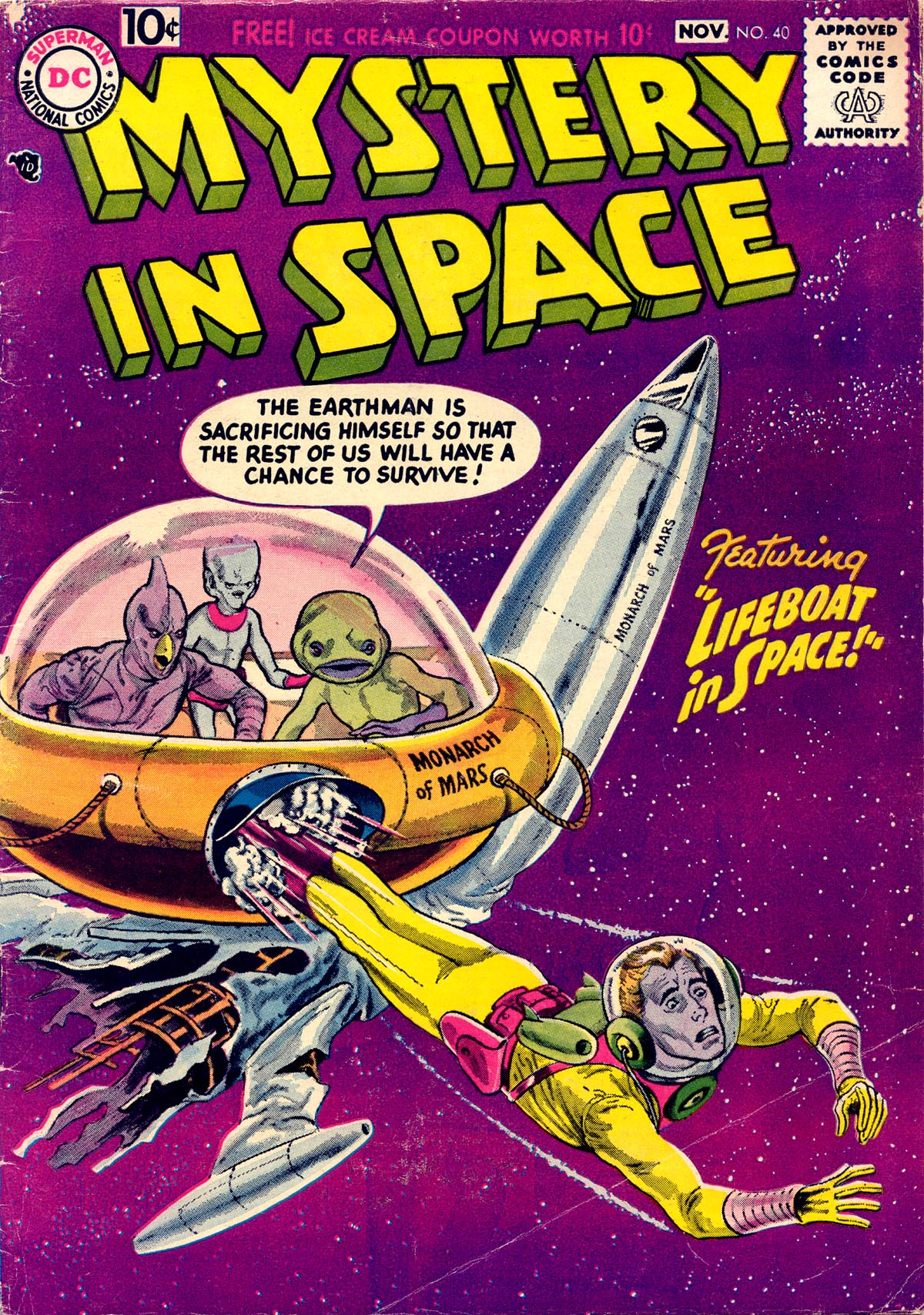 Mystery in Space (1951) issue 40 - Page 1
