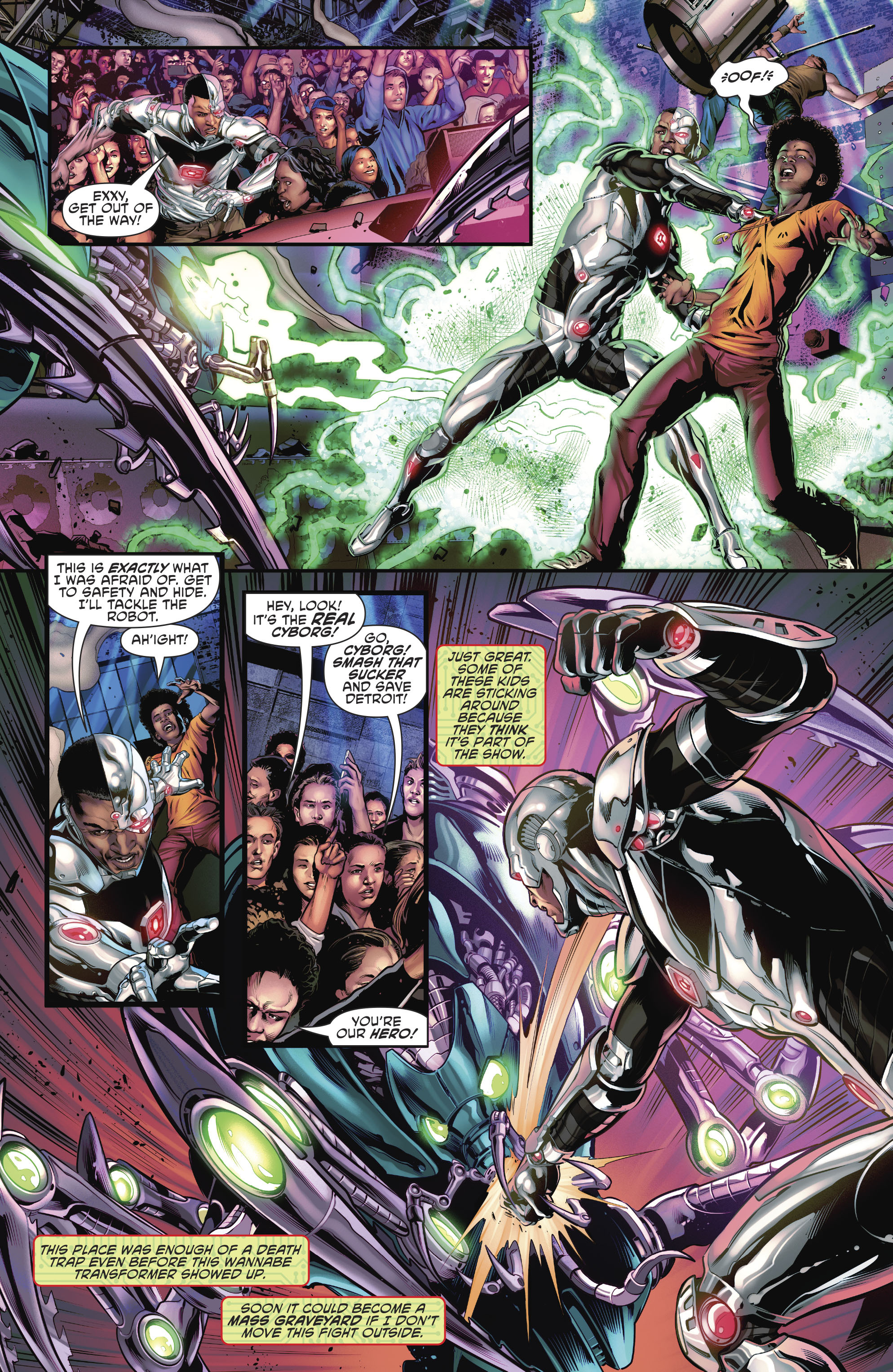 Read online Cyborg (2016) comic -  Issue #12 - 15