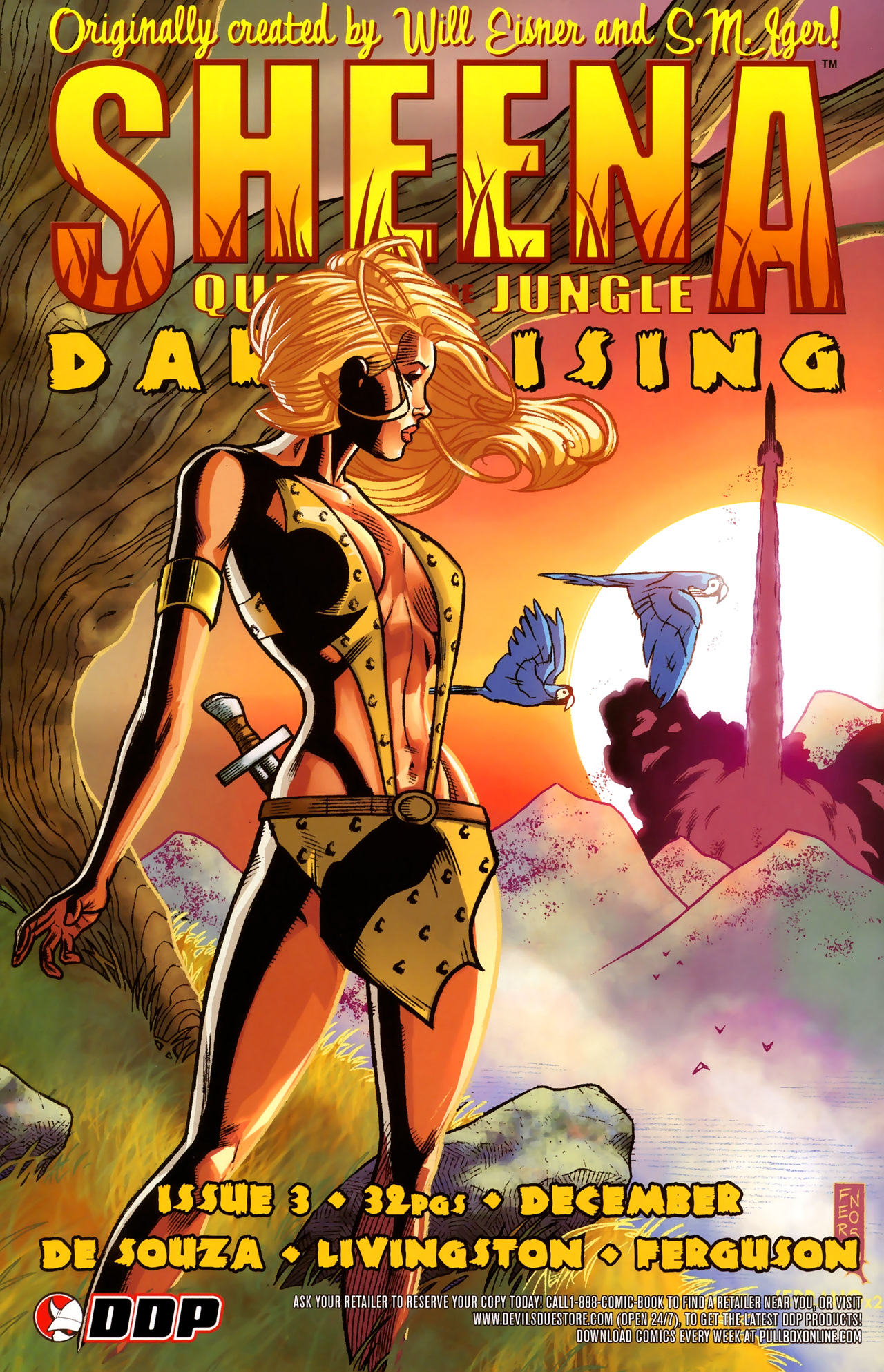 Read online Sheena Queen of the Jungle: Dark Rising comic -  Issue #2 - 25