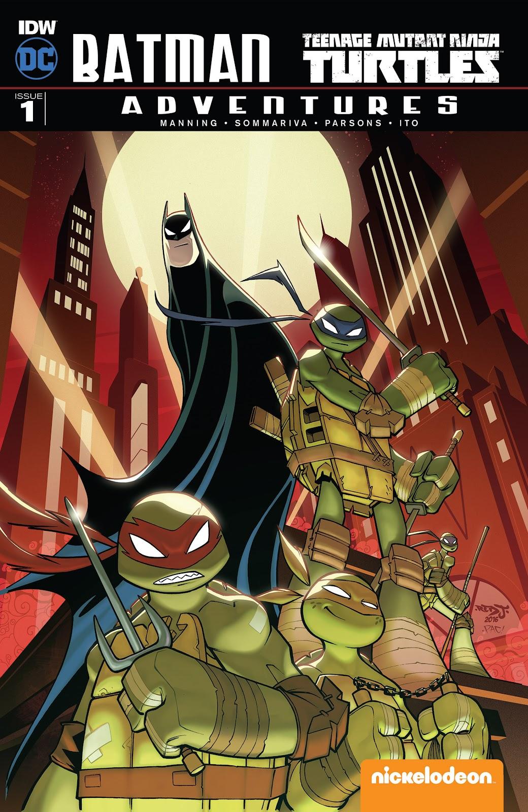 Batman/Teenage Mutant Ninja Turtles Adventure 1 Page 1
