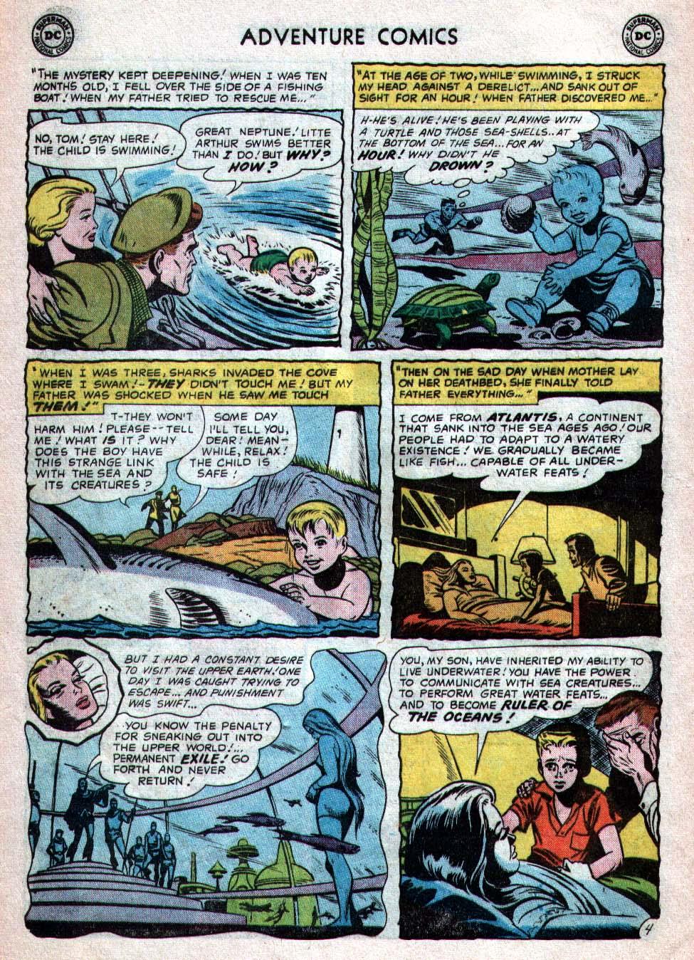 Read online Adventure Comics (1938) comic -  Issue #260 - 20