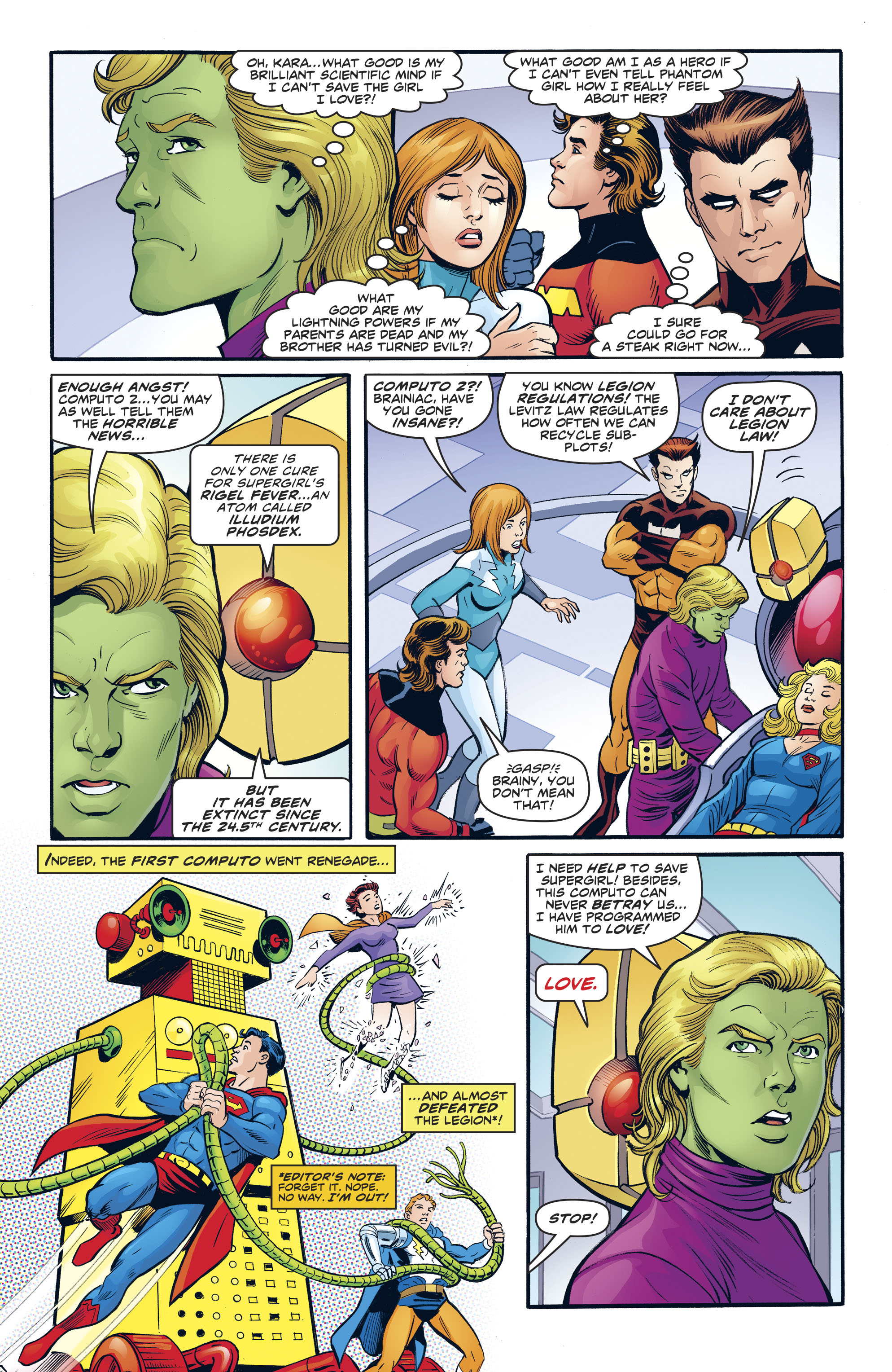 Read online Legion of Super-Heroes/Bugs Bunny Special comic -  Issue # Full - 6
