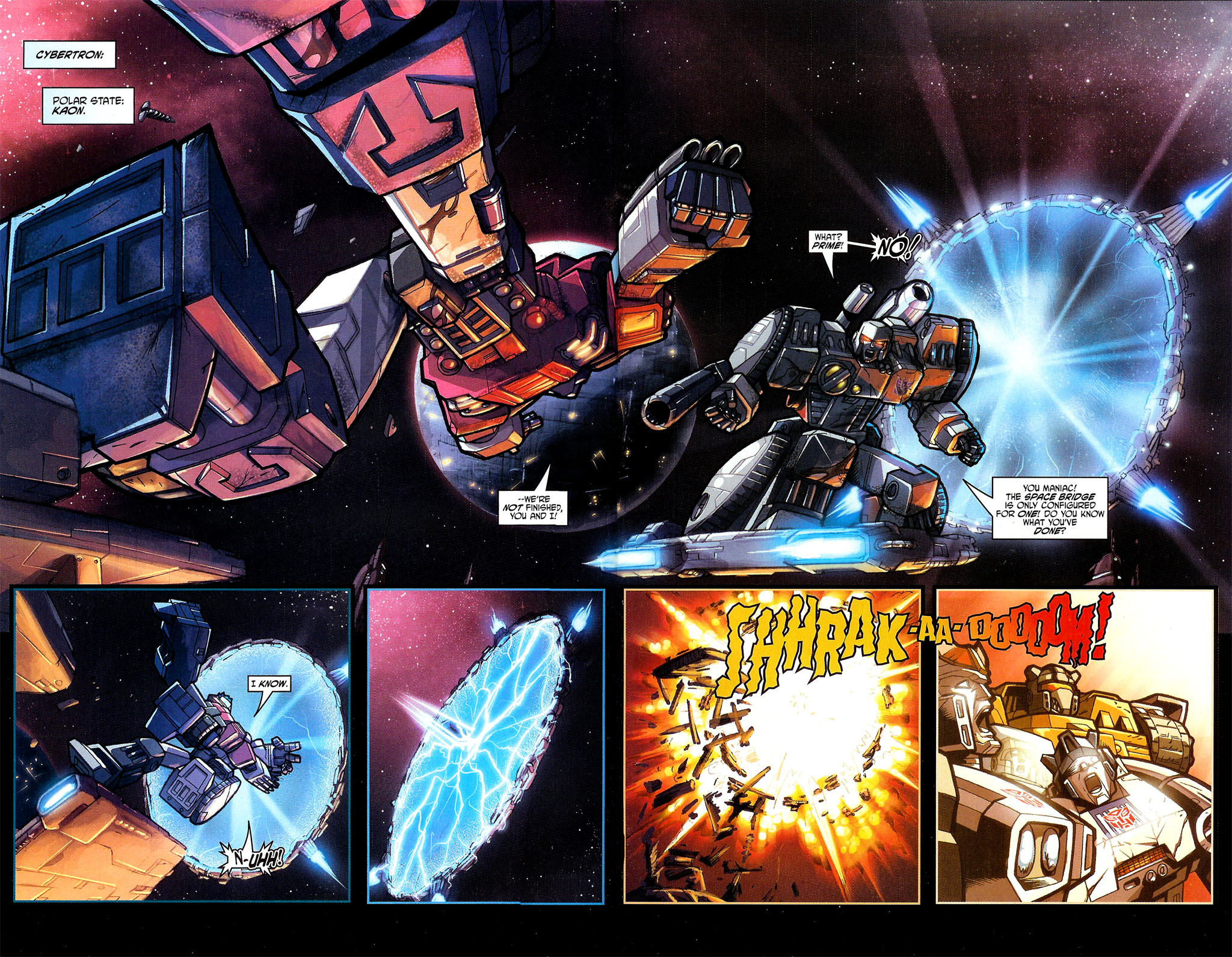"Read online Transformers War Within: ""The Dark Ages"" comic -  Issue #1 - 6"