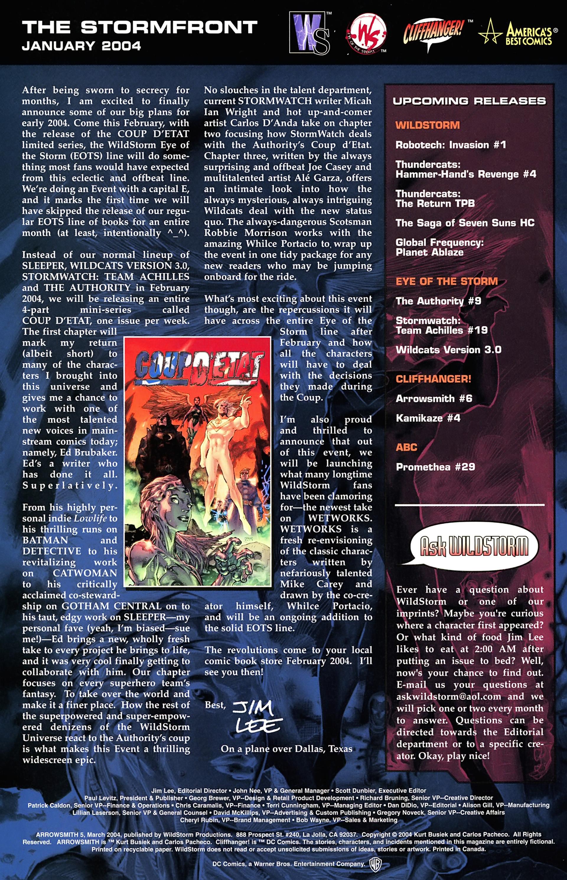 Read online Arrowsmith comic -  Issue #5 - 24