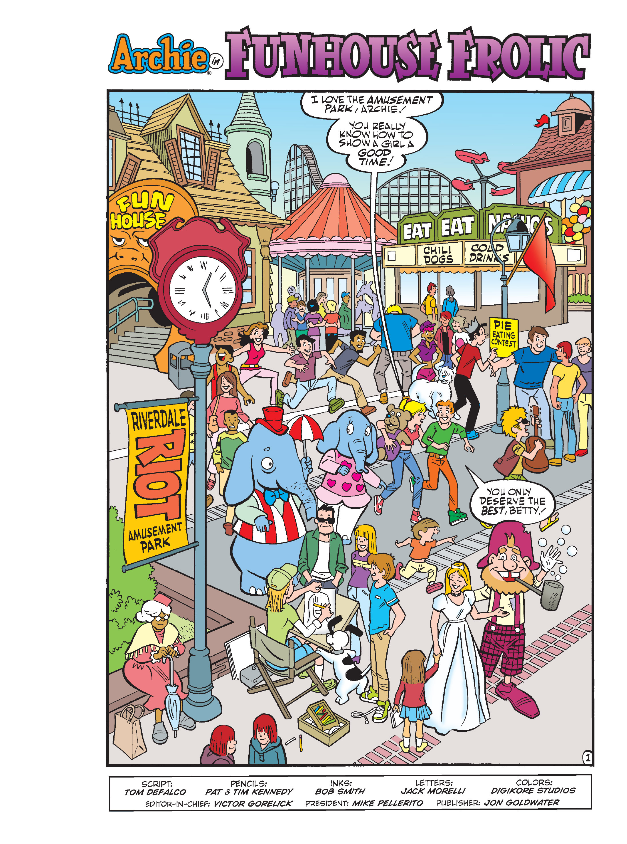 Read online Archie's Funhouse Double Digest comic -  Issue #15 - 2