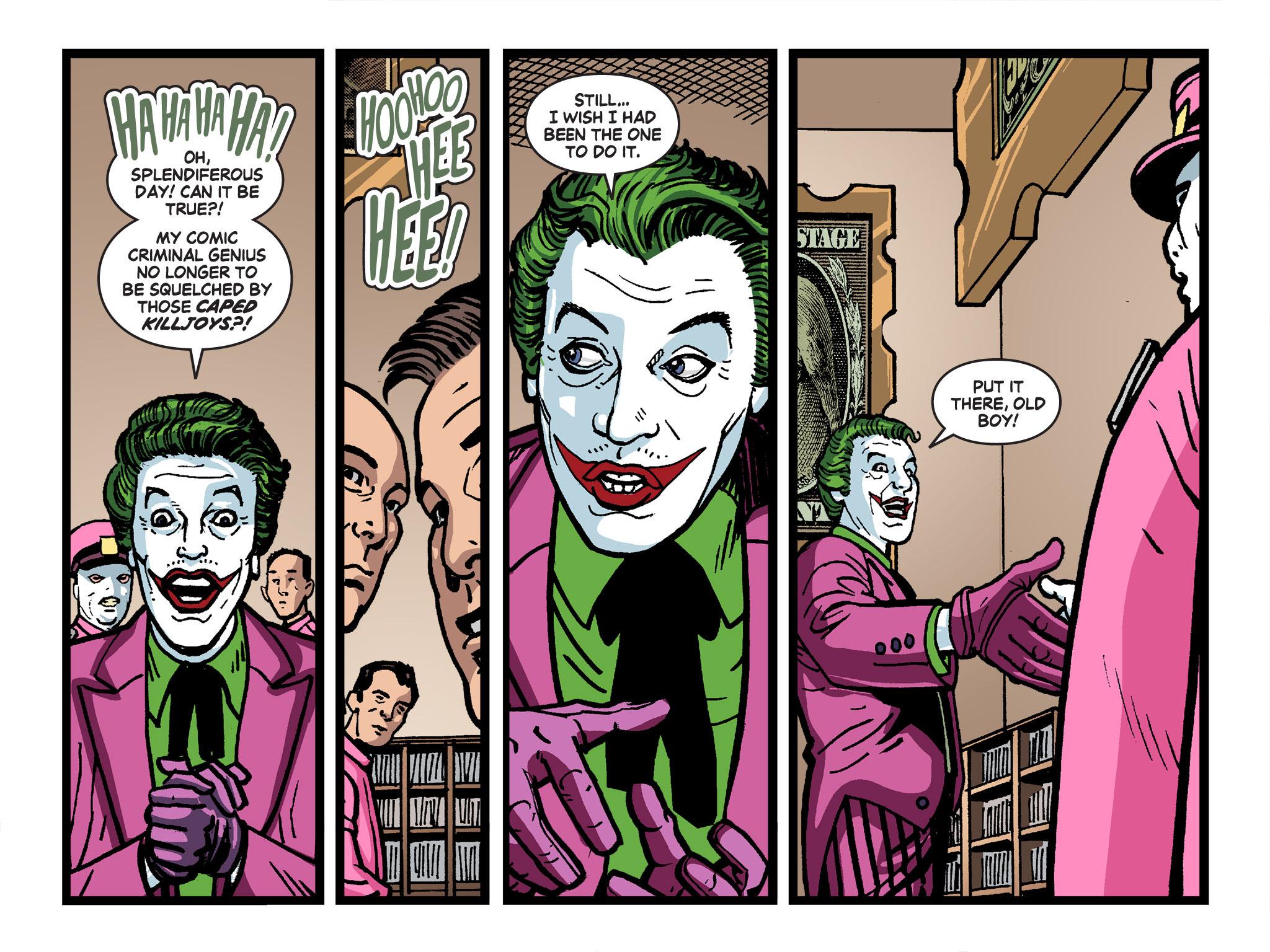 Read online Batman '66 Meets the Green Hornet [II] comic -  Issue #4 - 20