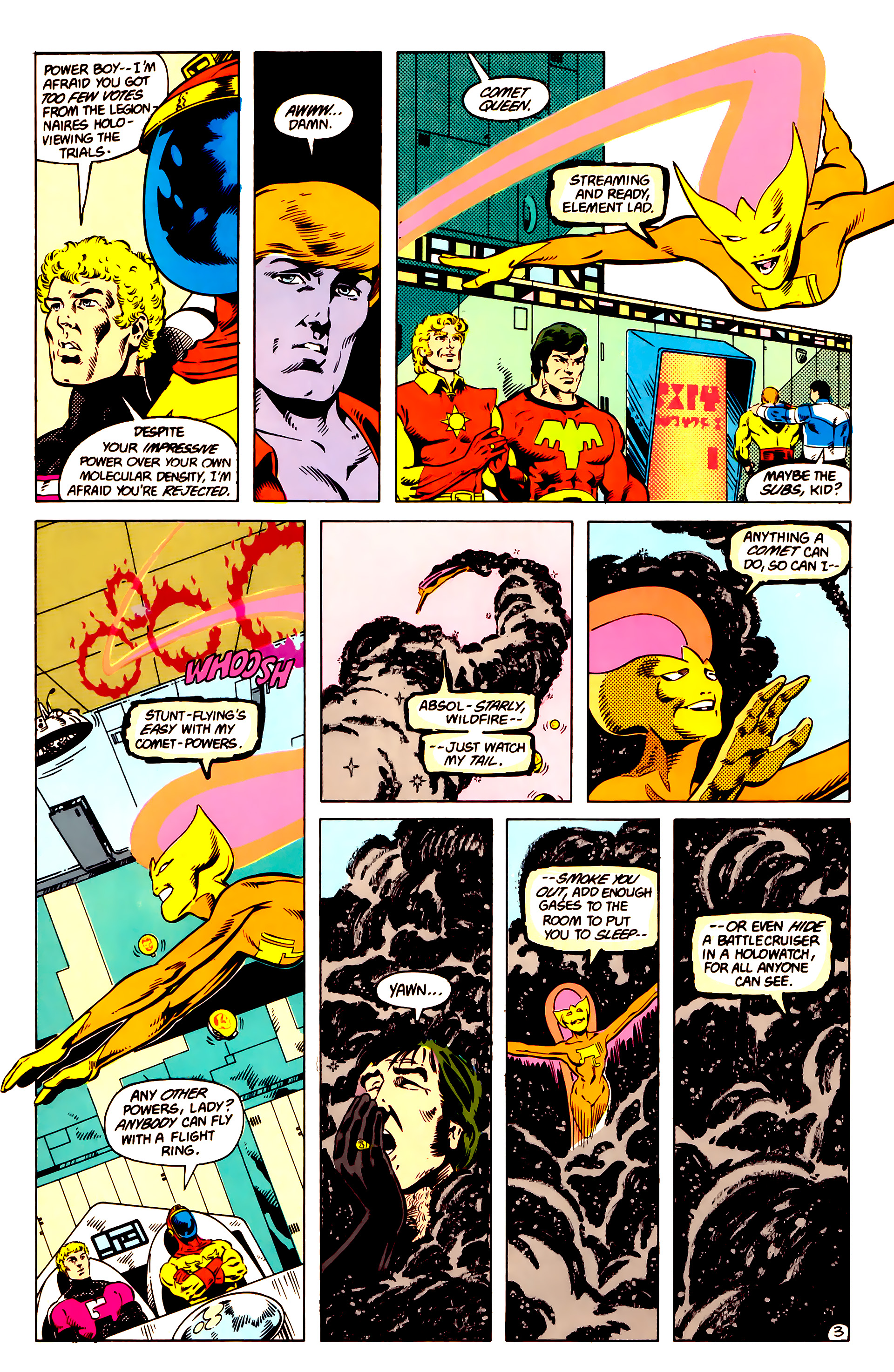 Legion of Super-Heroes (1984) 14 Page 4