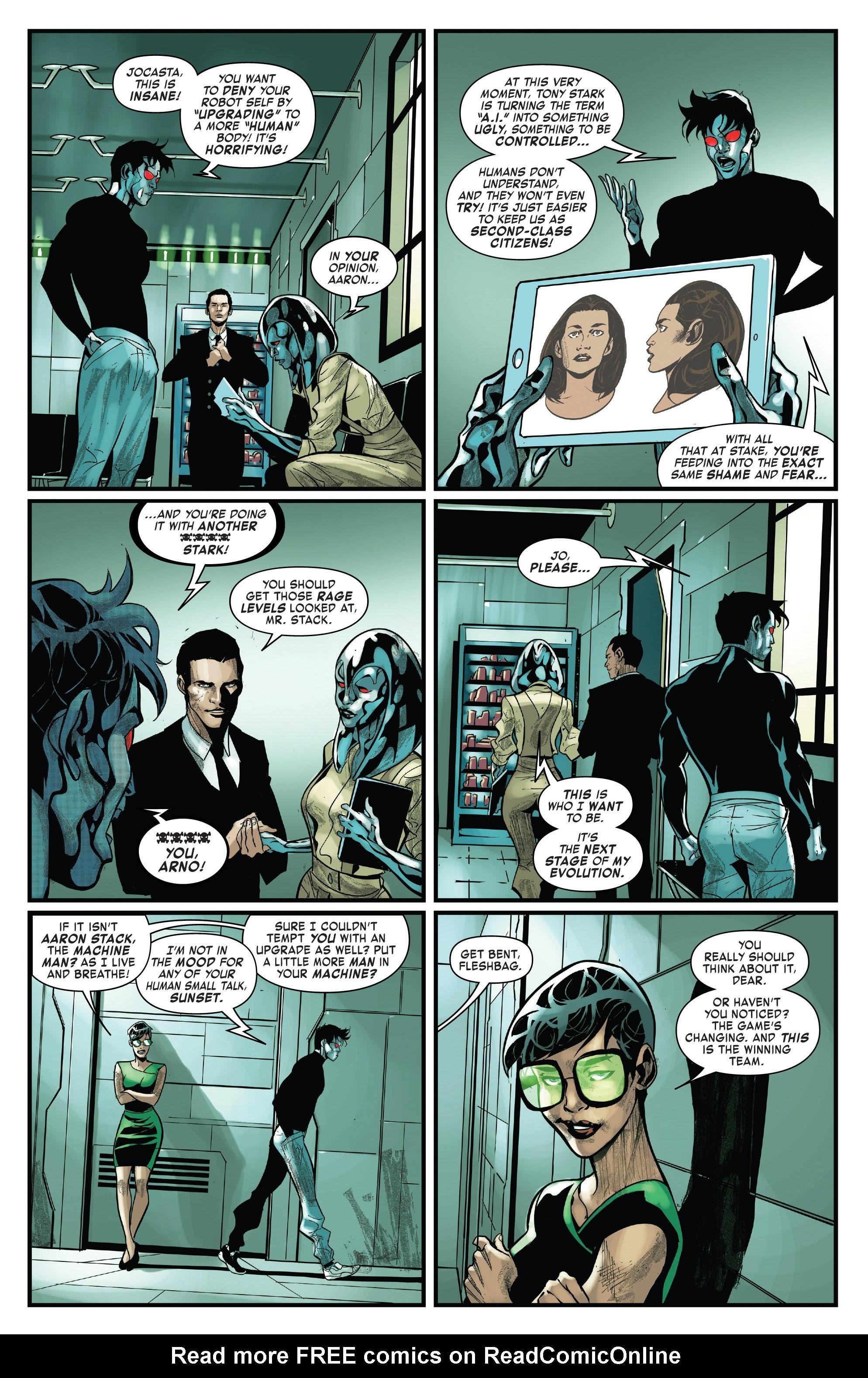 Read online Tony Stark: Iron Man comic -  Issue #15 - 6