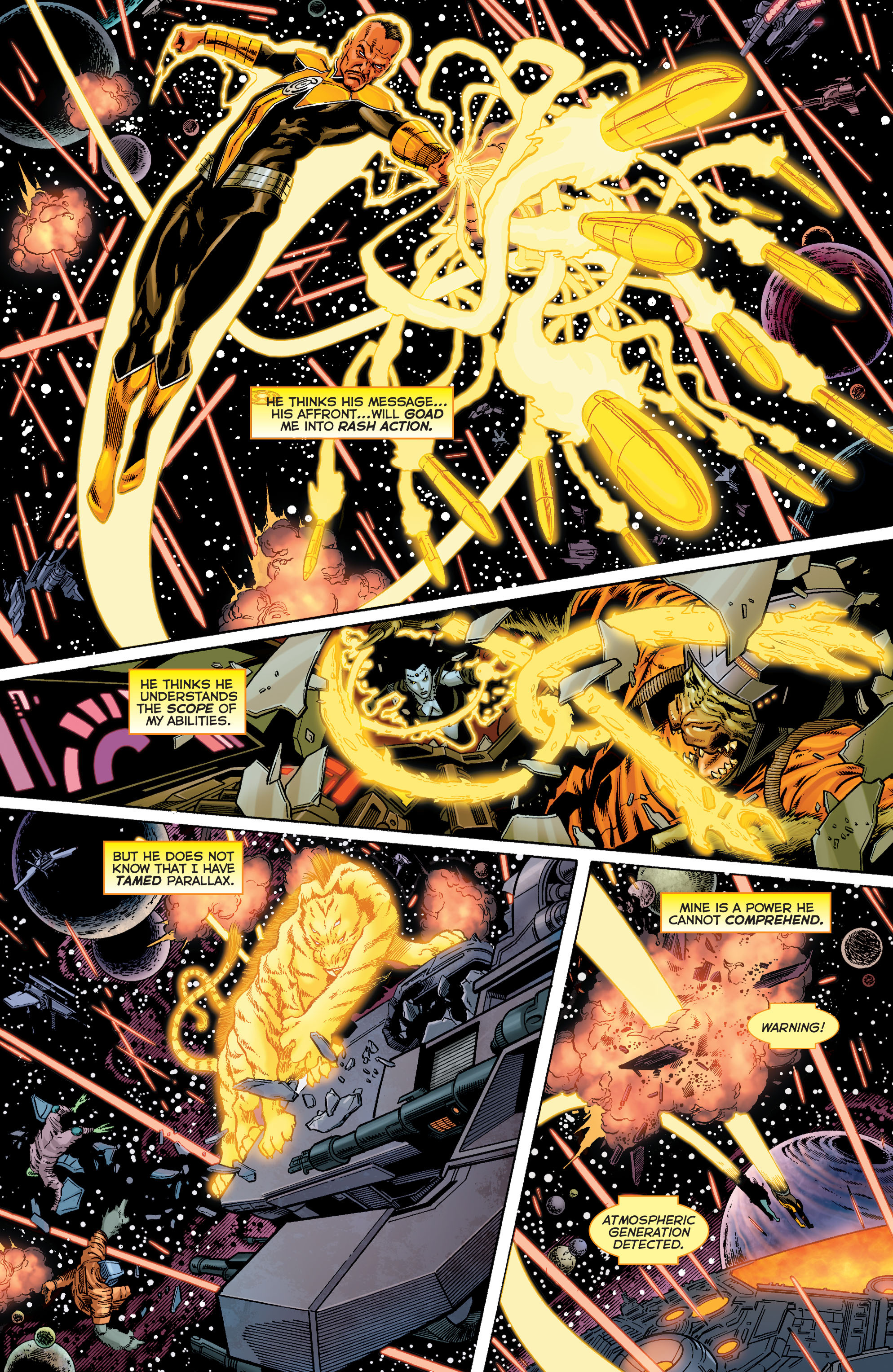 Read online Sinestro comic -  Issue #9 - 14