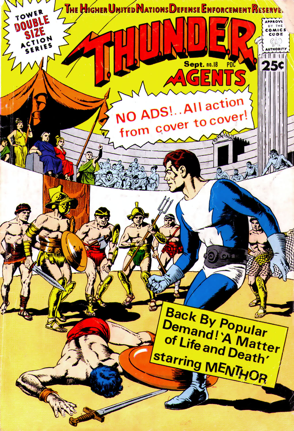 T.H.U.N.D.E.R. Agents (1965) issue 18 - Page 1