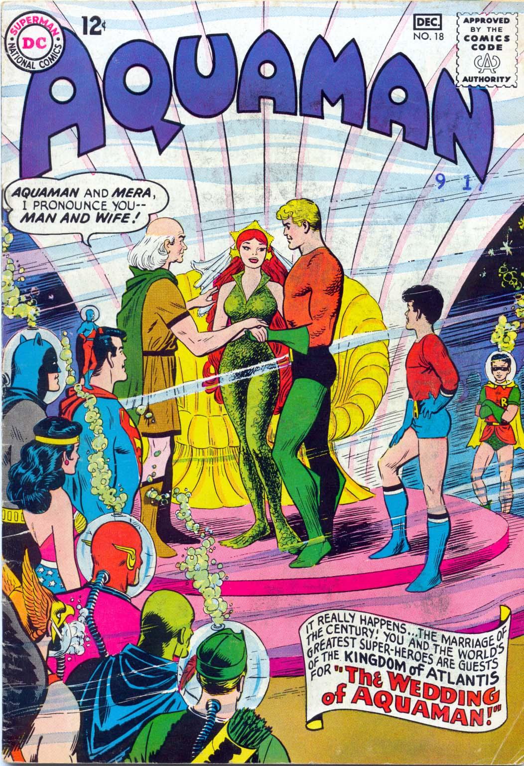 Aquaman (1962) issue 18 - Page 1