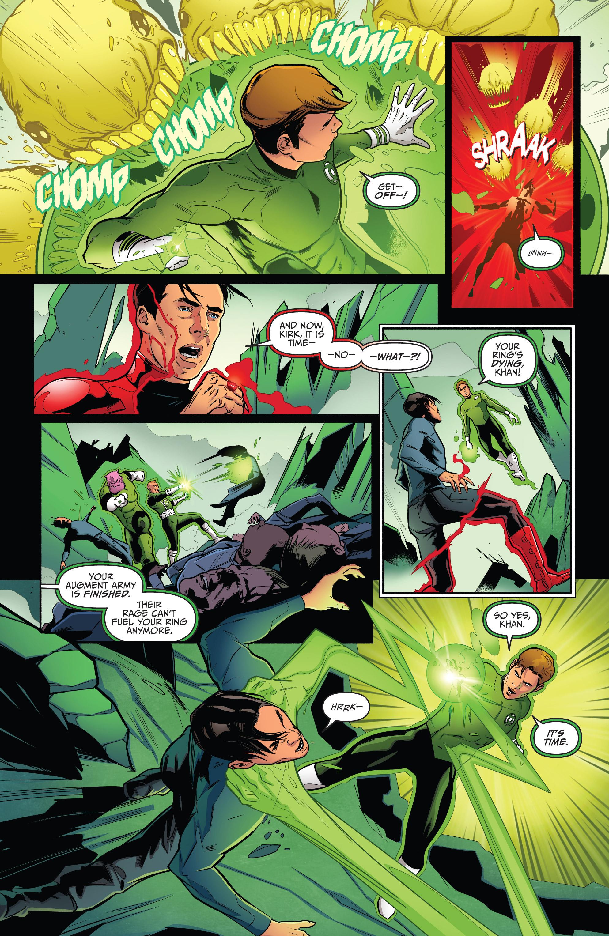 Read online Star Trek/Green Lantern (2016) comic -  Issue #6 - 12
