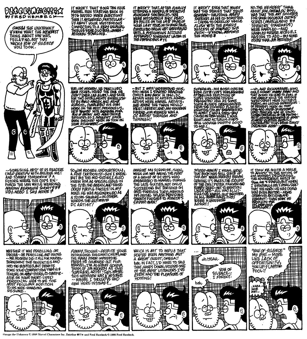 Read online The Nearly Complete Essential Hembeck Archives Omnibus comic -  Issue # TPB (Part 8) - 5