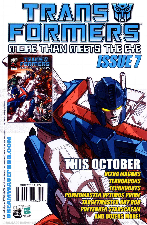 Read online Transformers Armada comic -  Issue #15 - 28