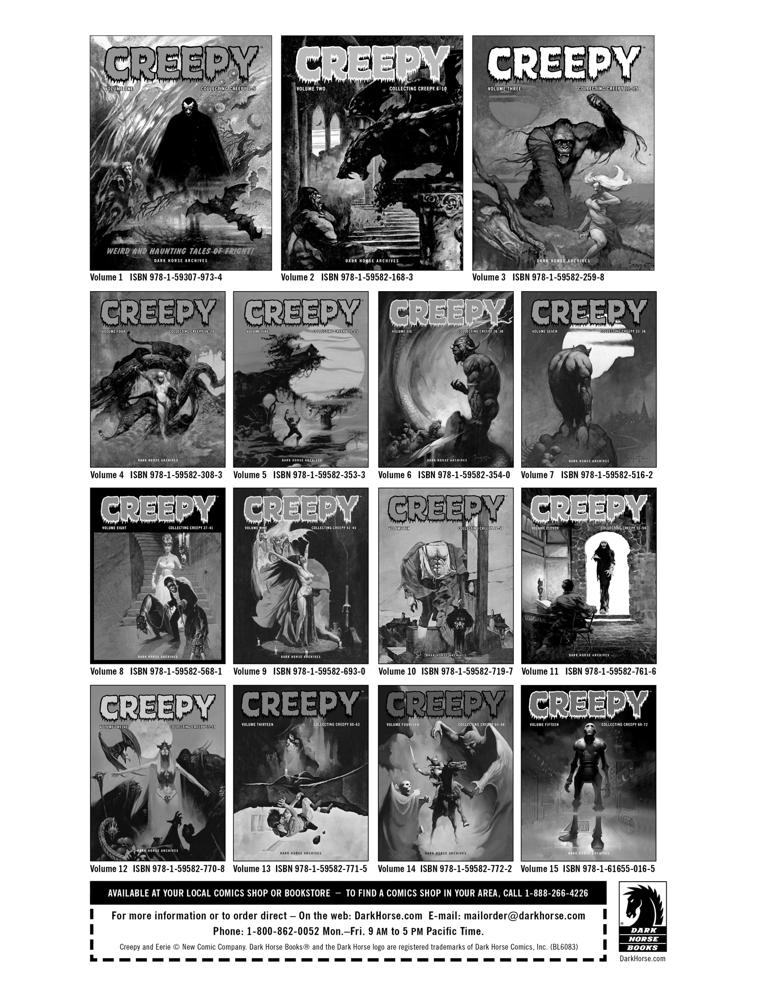Read online Eerie Archives comic -  Issue # TPB 13 - 271