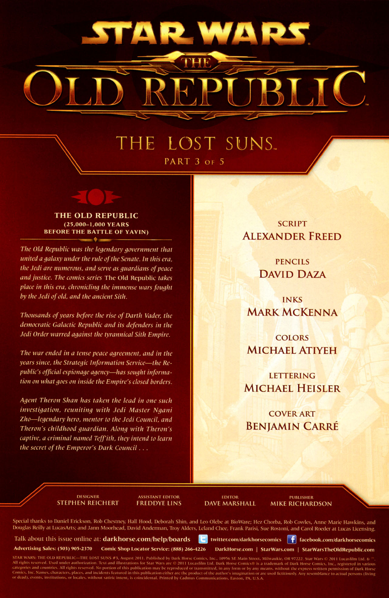 Read online Star Wars: The Old Republic - The Lost Suns comic -  Issue #3 - 2