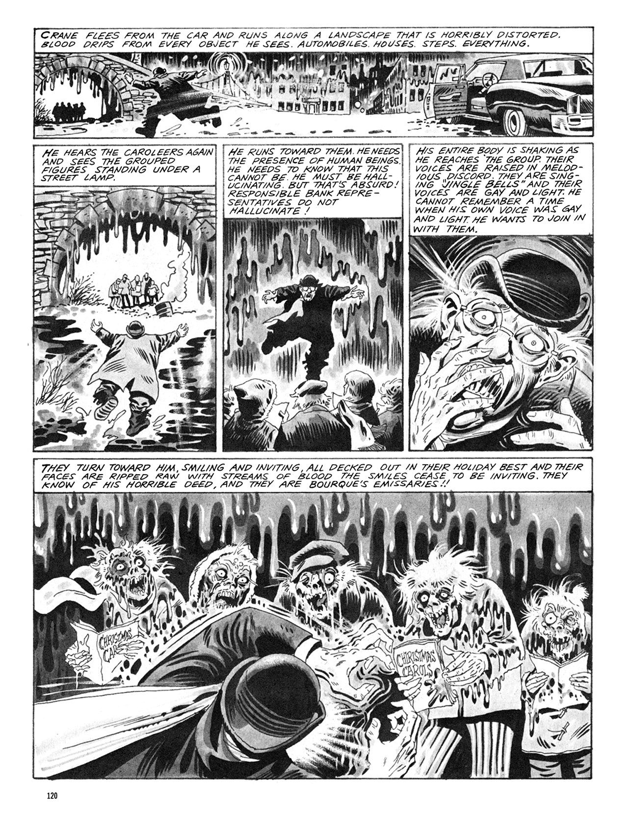 Read online Eerie Archives comic -  Issue # TPB 8 - 121