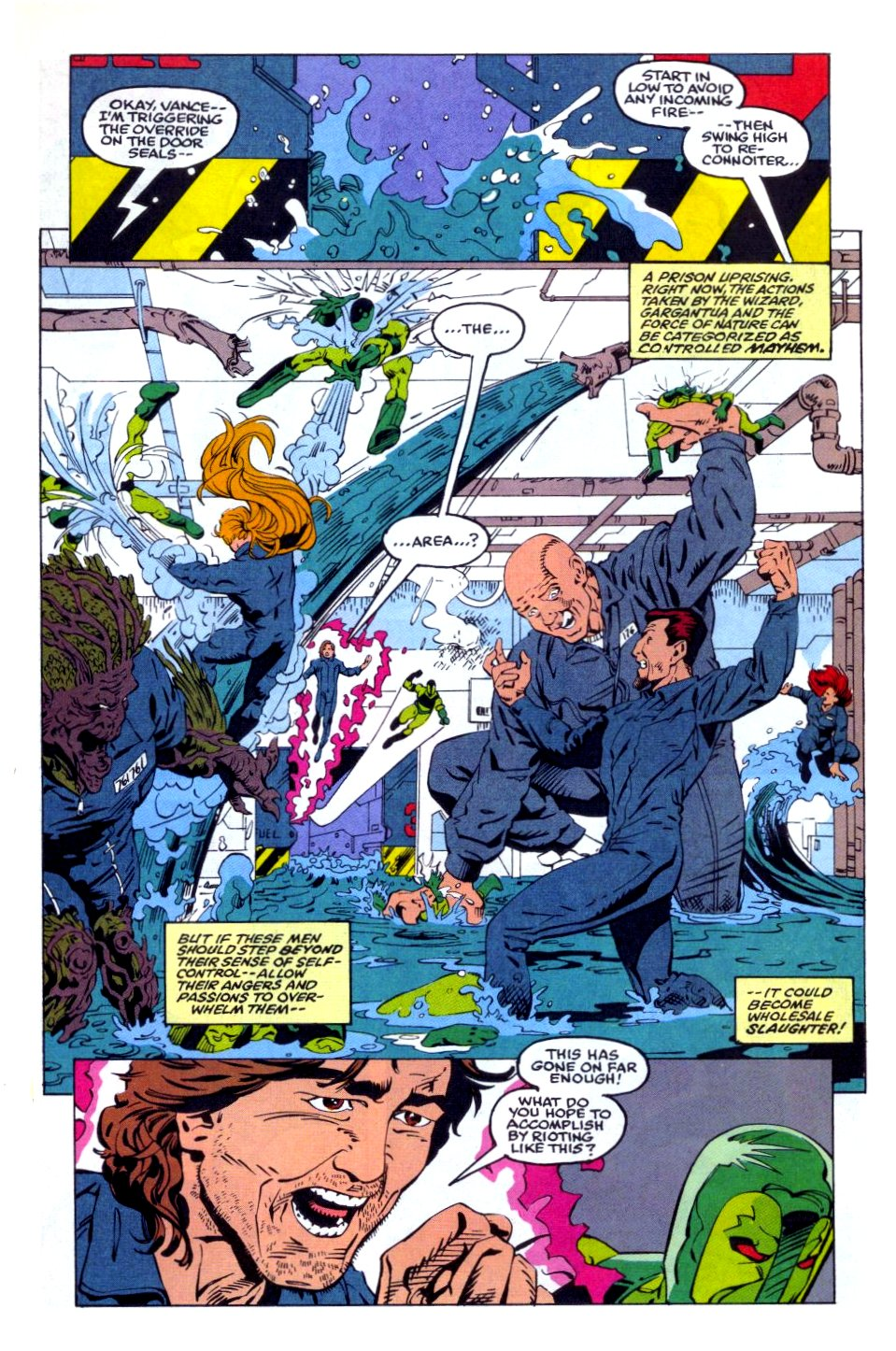 The New Warriors Issue #36 #40 - English 16