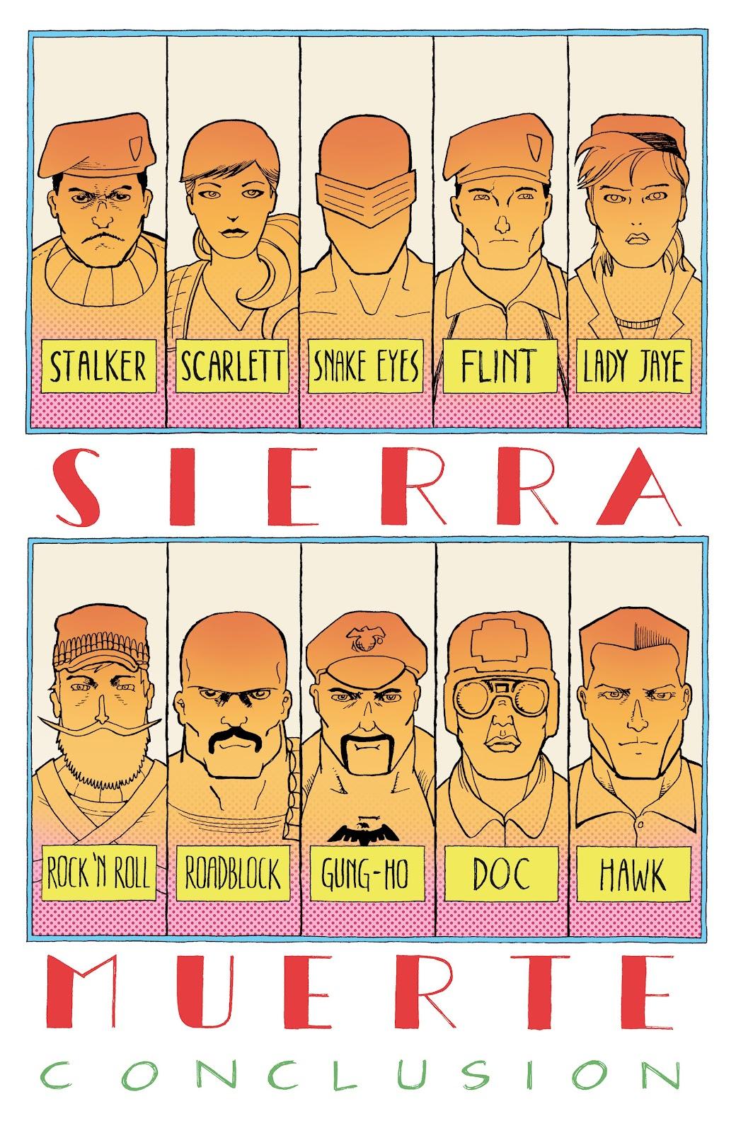 Read online G.I. Joe: Sierra Muerte comic -  Issue #3 - 3