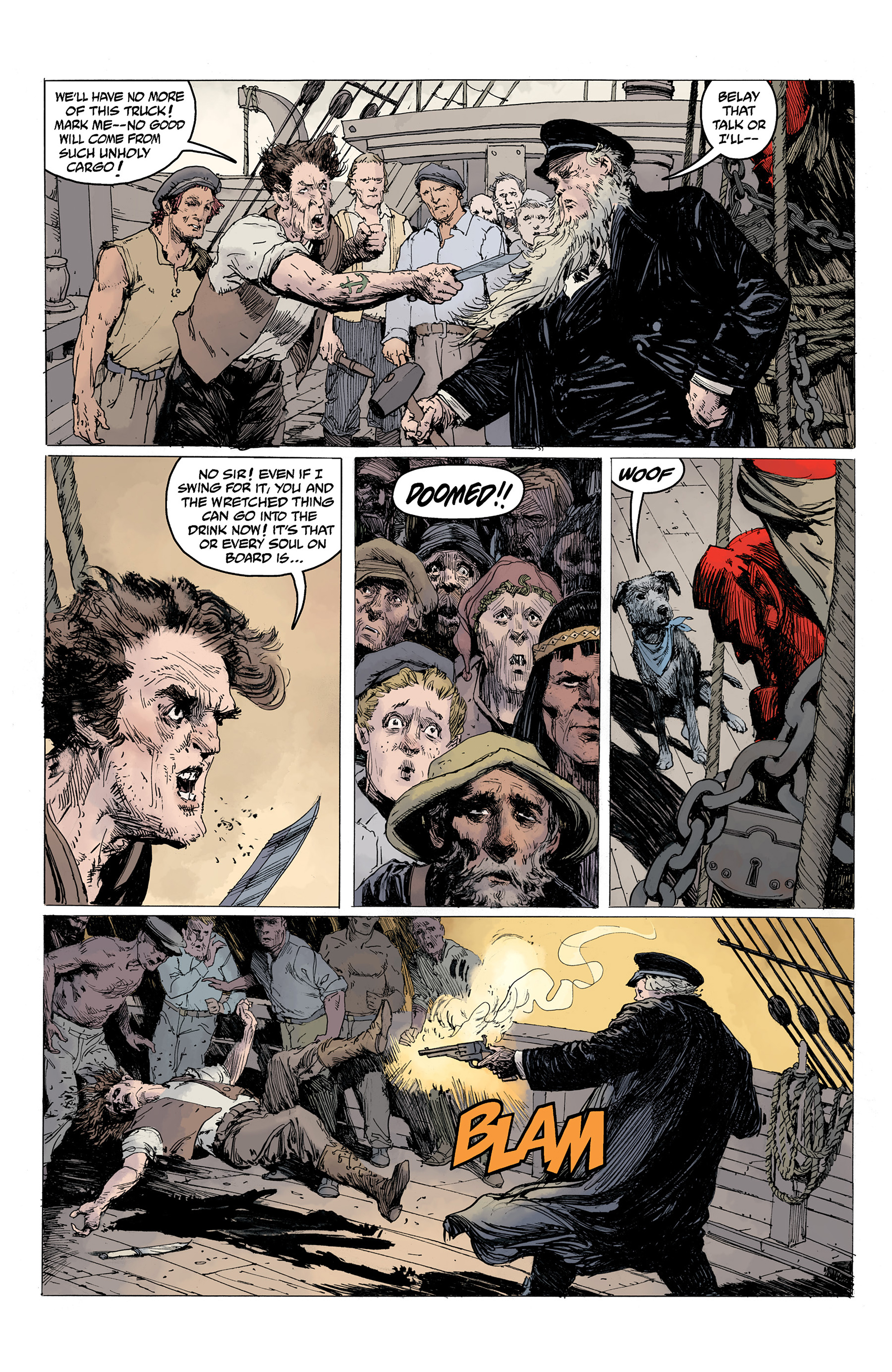 Read online Hellboy: Into the Silent Sea comic -  Issue # Full - 15