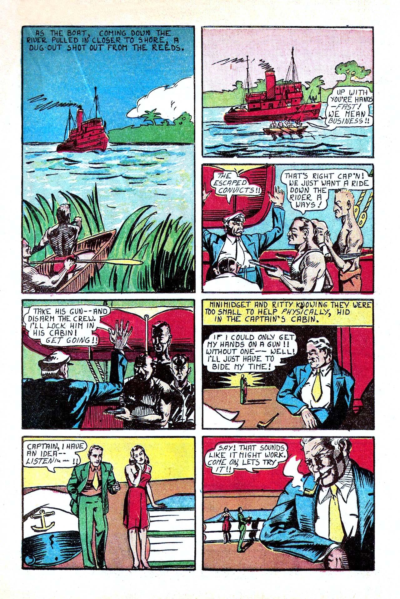 Read online Amazing Man Comics comic -  Issue #11 - 31