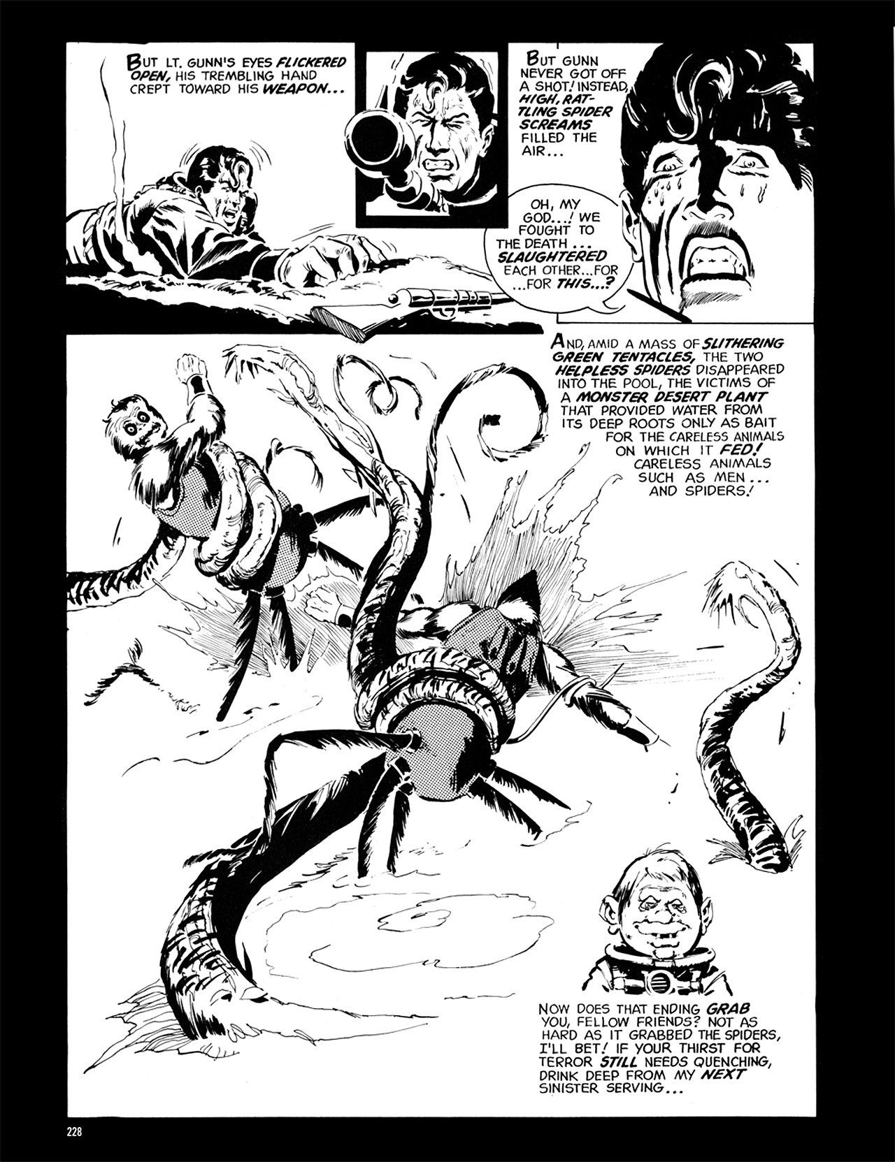 Read online Eerie Archives comic -  Issue # TPB 6 - 227