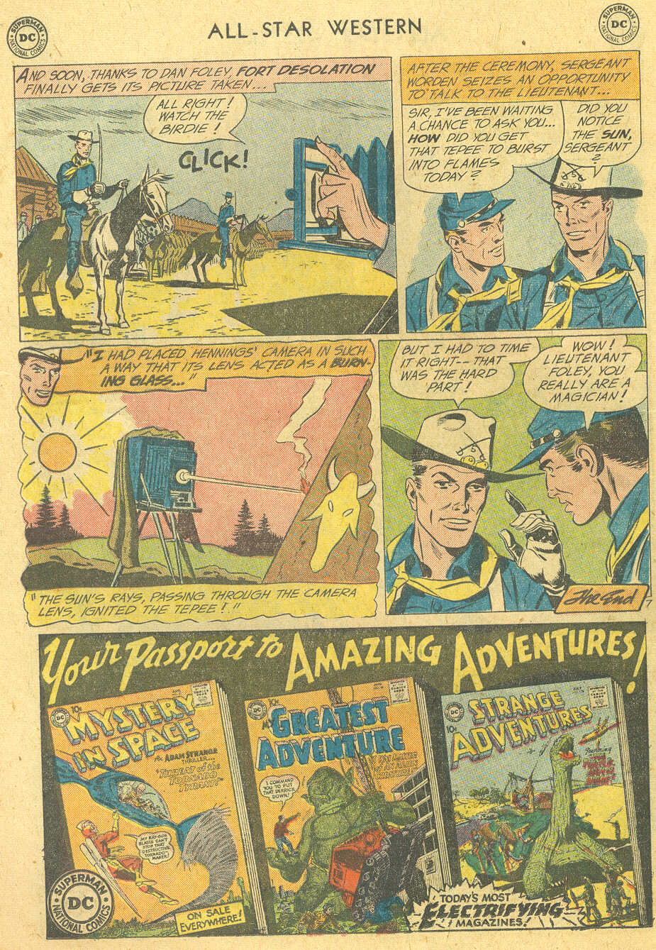 Read online All-Star Western (1951) comic -  Issue #114 - 22