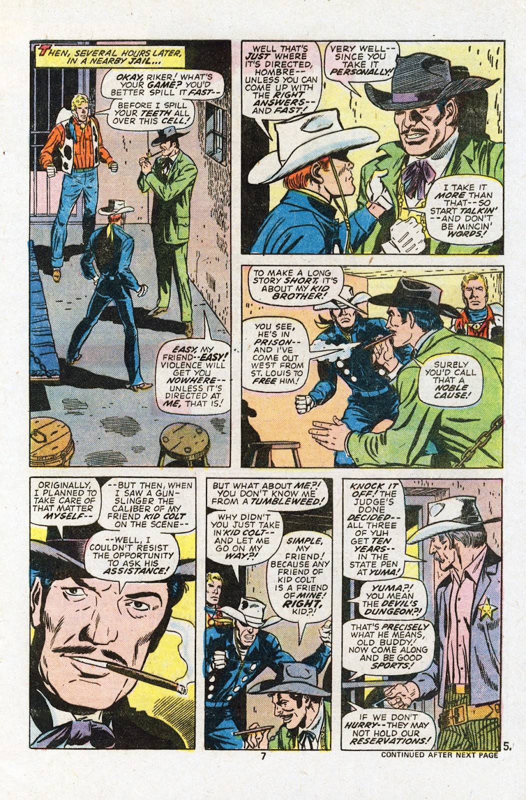Kid Colt Outlaw issue 201 - Page 9