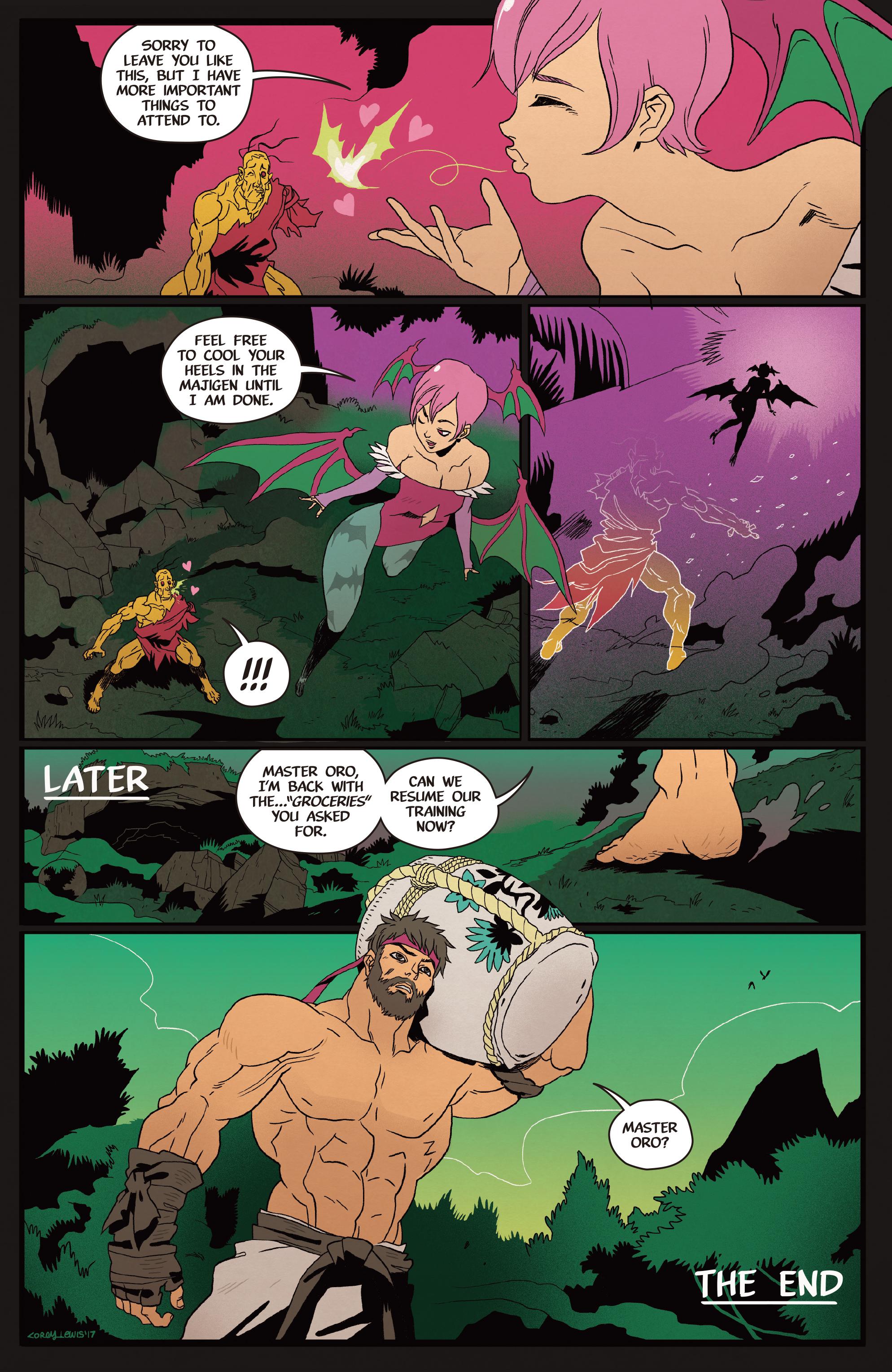 Read online Street Fighter VS Darkstalkers comic -  Issue #2 - 24