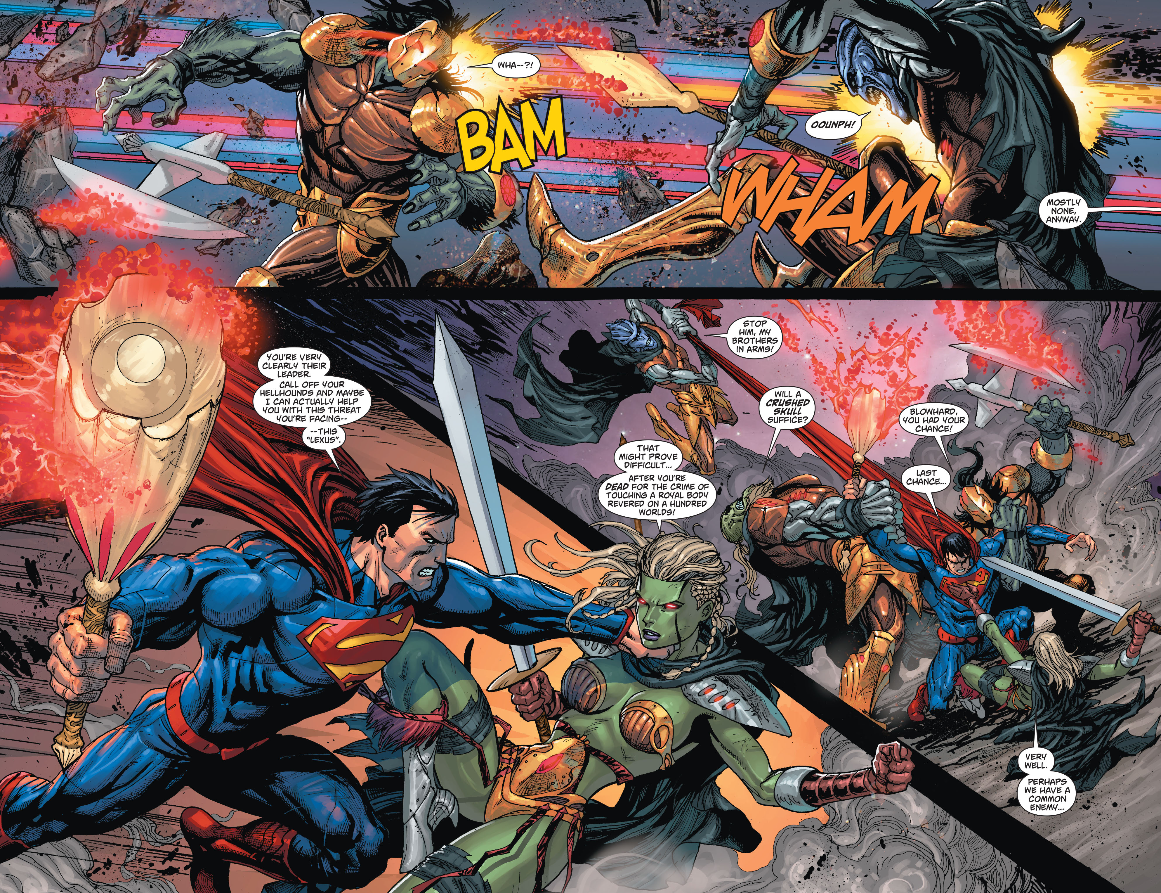 Read online Action Comics (2011) comic -  Issue #23 - 6