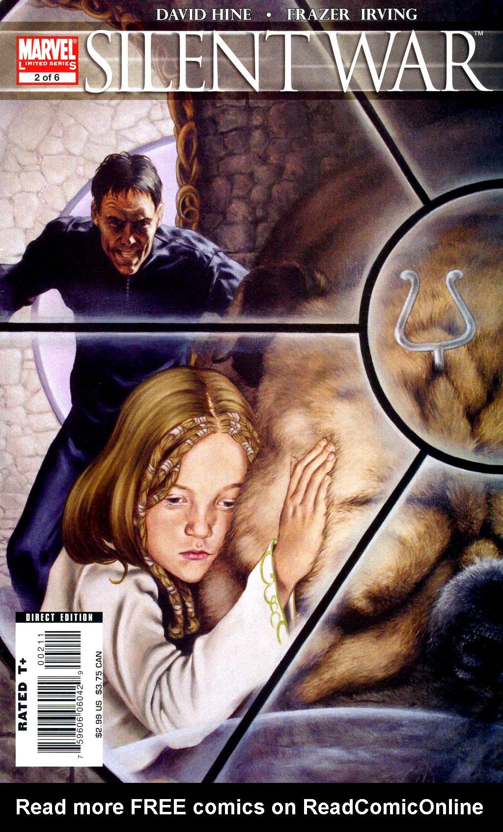 Read online Silent War comic -  Issue #2 - 1
