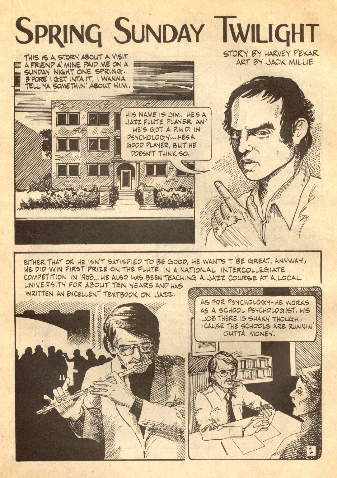American Splendor (1976) issue 7 - Page 32