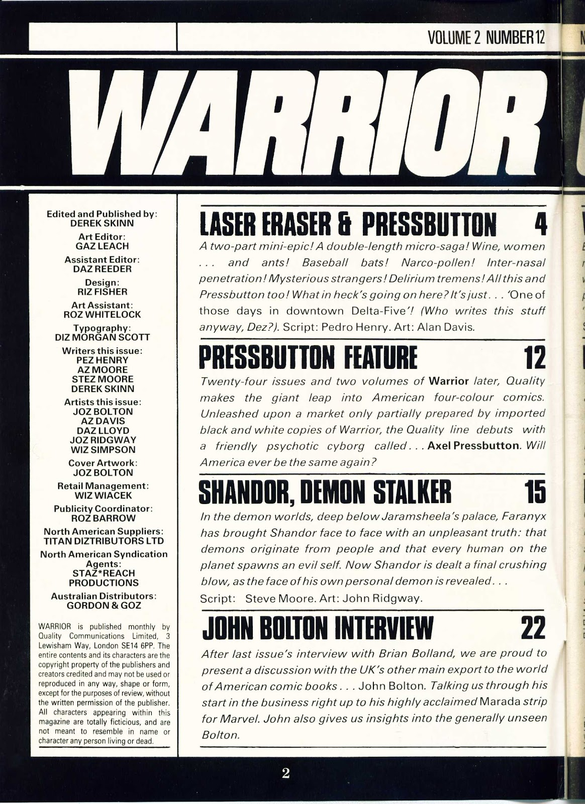 Warrior Issue #24 #25 - English 2