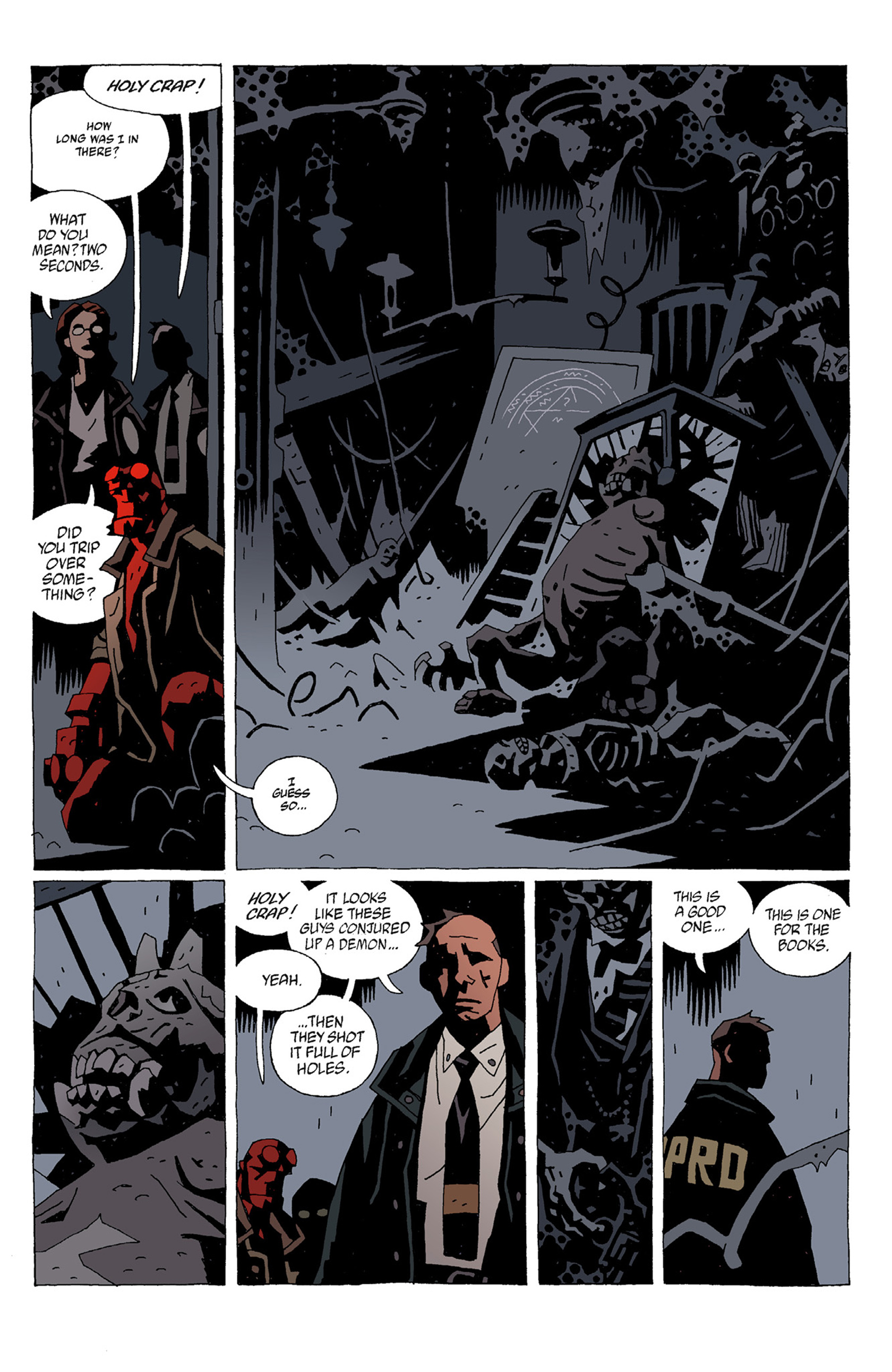 Read online Hellboy: The Troll Witch and Others comic -  Issue # TPB - 67