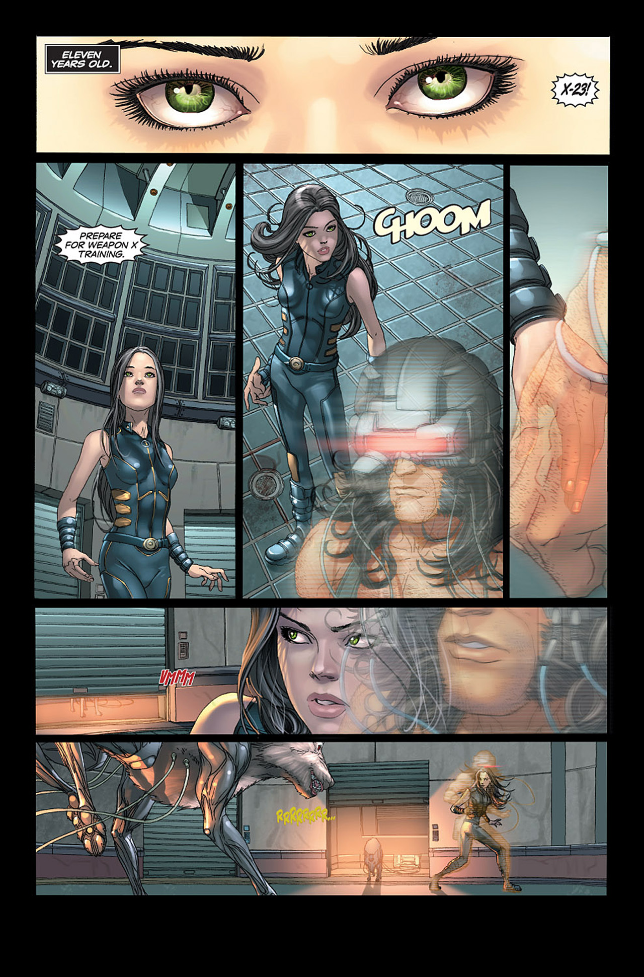 Read online X-23: Target X comic -  Issue #1 - 3