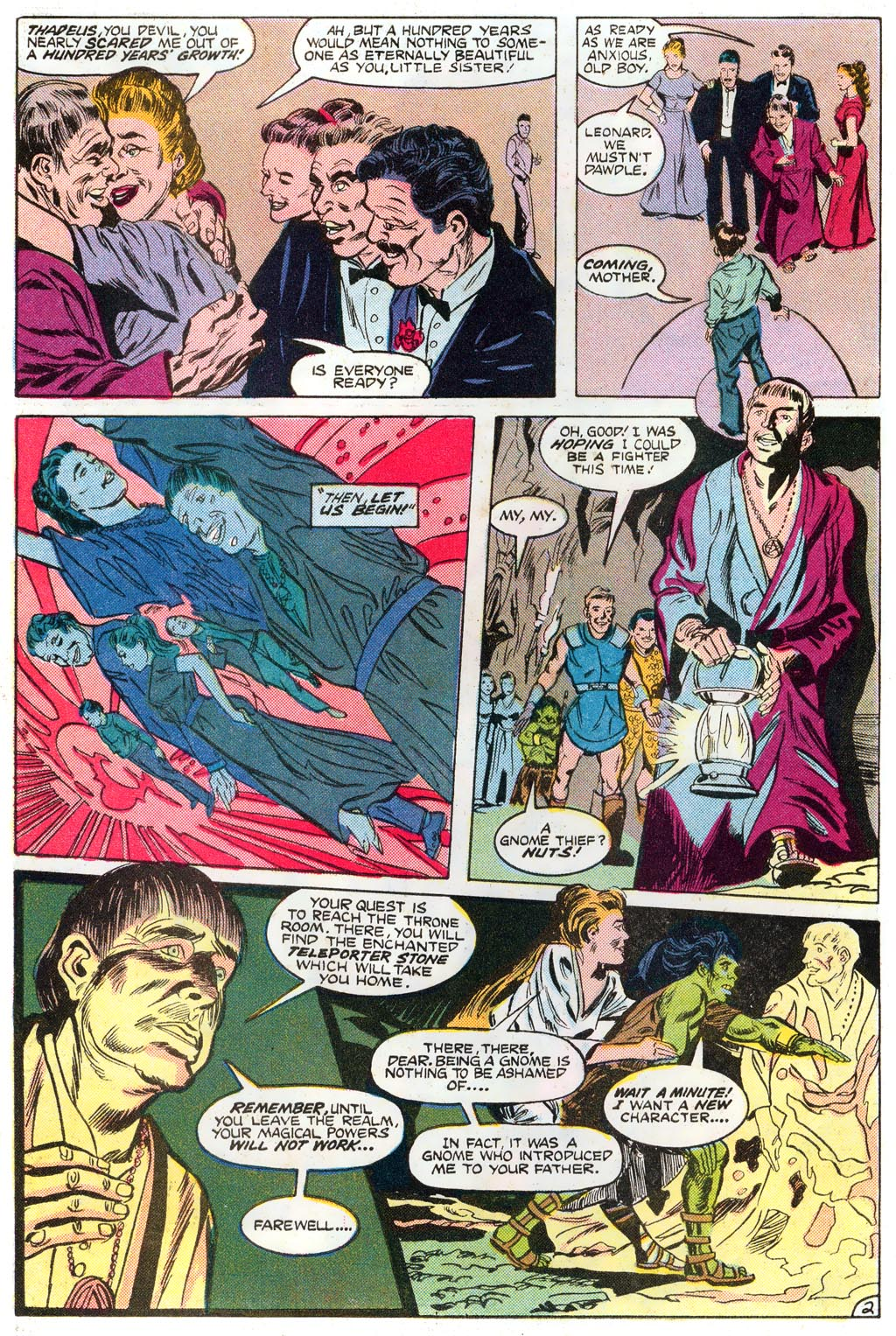 Elvira's House of Mystery Issue #1 #2 - English 8