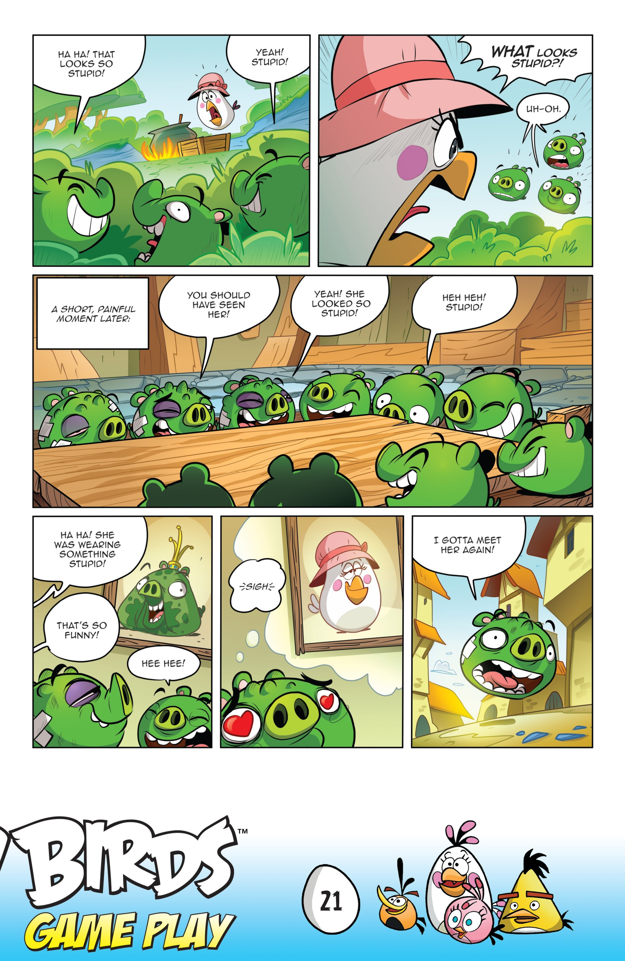 Read online Angry Birds Comics: Game Play comic -  Issue #1 - 23