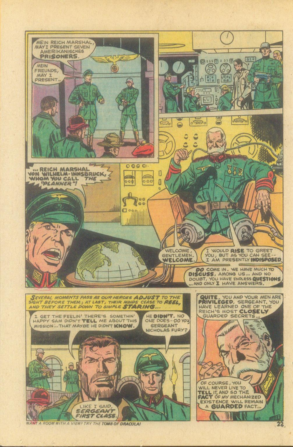Read online Sgt. Fury comic -  Issue #119 - 24
