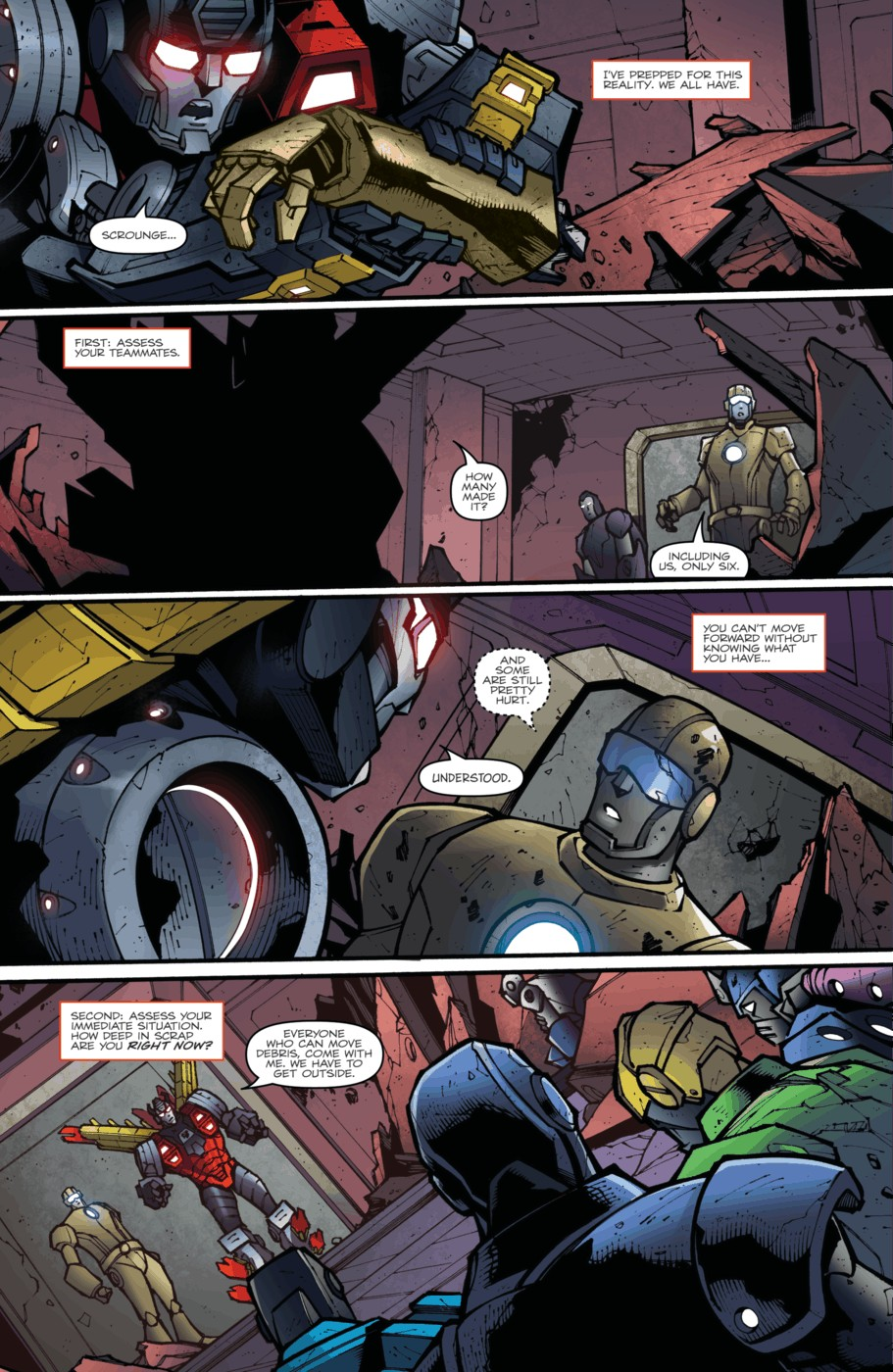 Read online Transformers Prime: Beast Hunters comic -  Issue #5 - 14