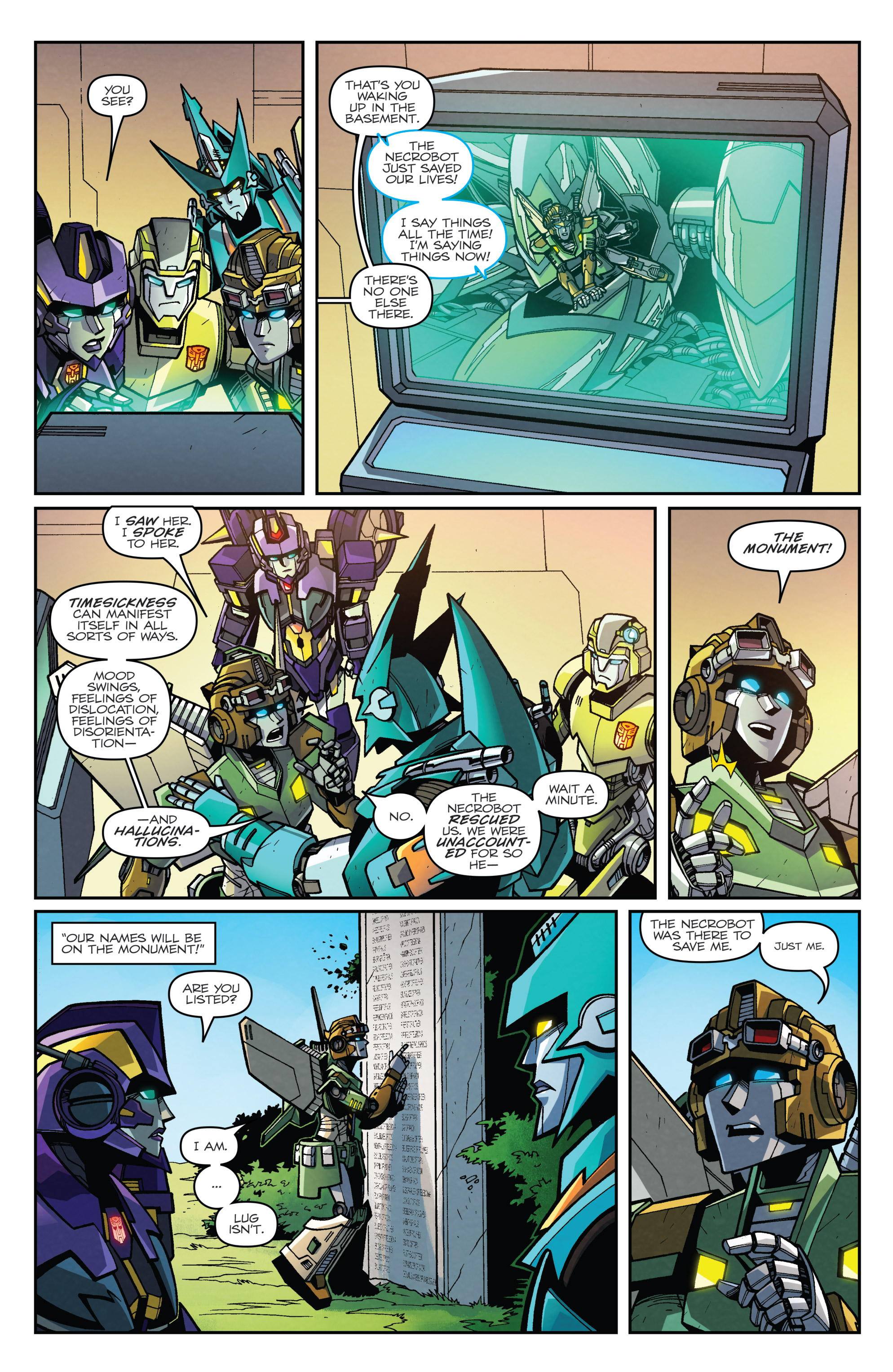 Read online Transformers: Lost Light comic -  Issue #5 - 20