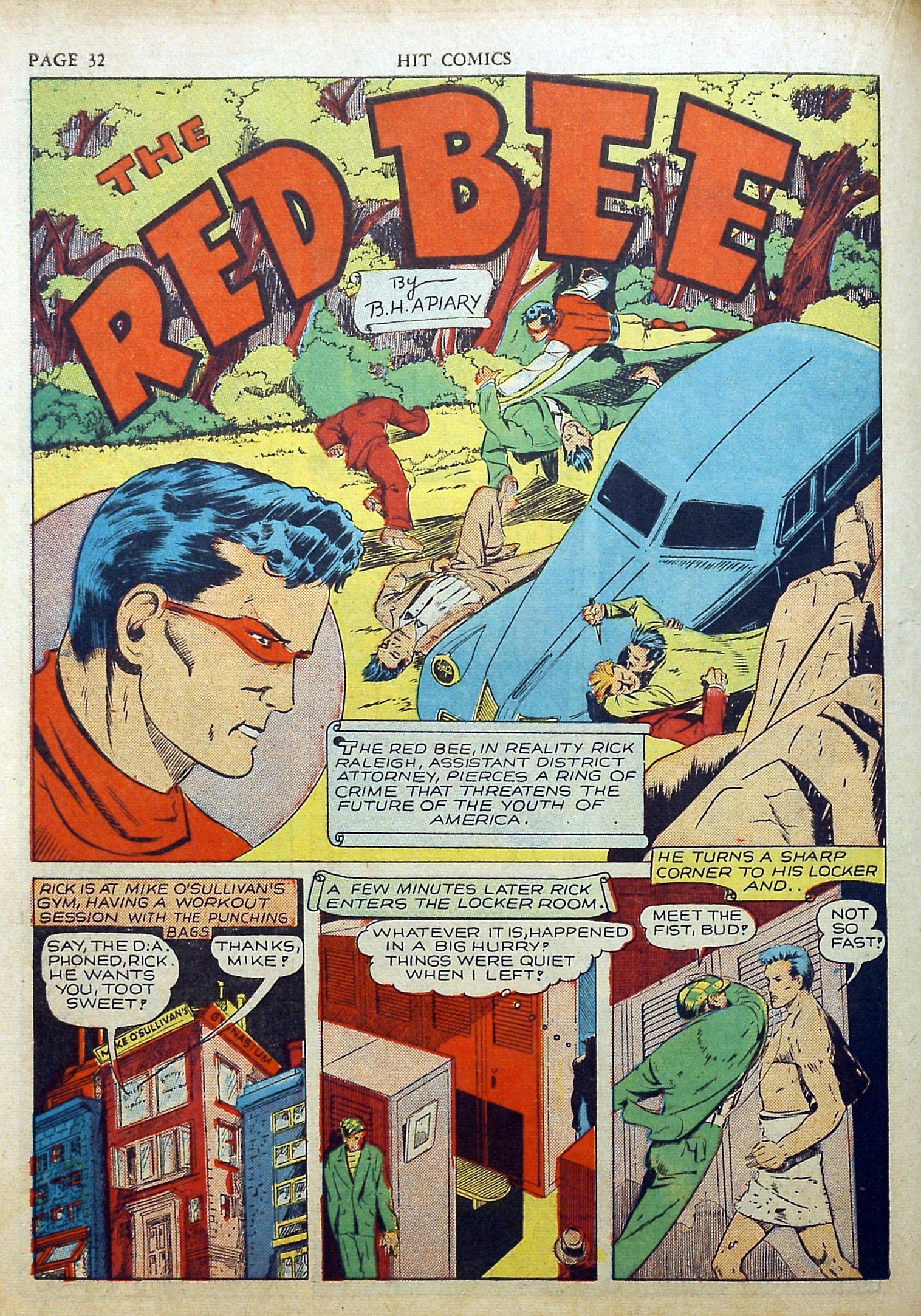 Read online Hit Comics comic -  Issue #17 - 34