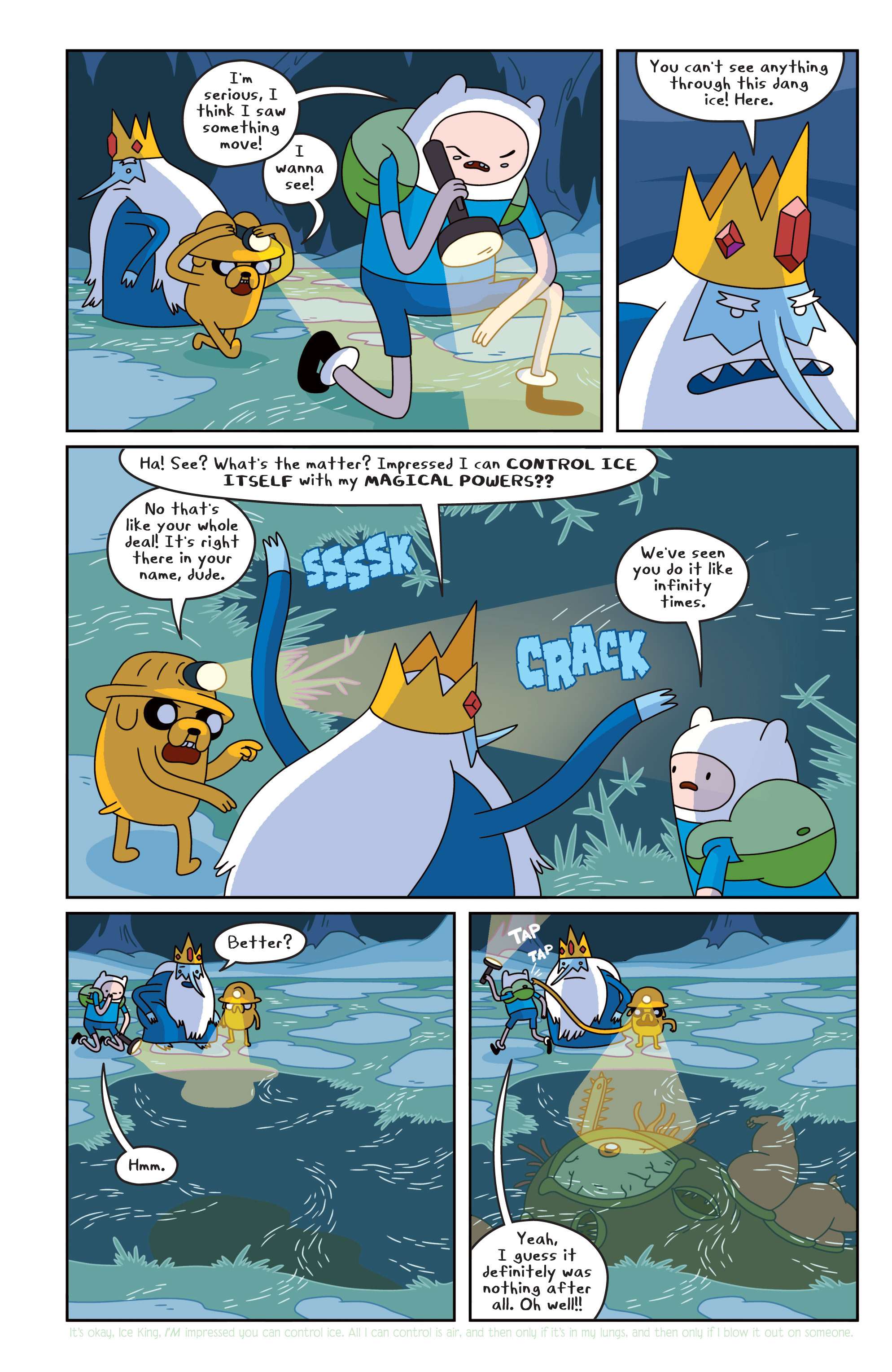 Read online Adventure Time comic -  Issue #17 - 6