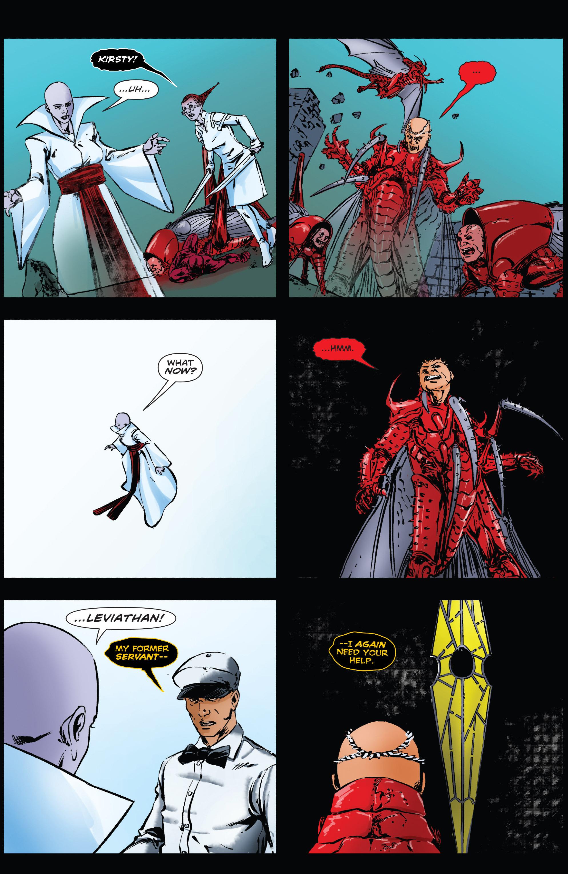 Read online Clive Barker's Hellraiser: The Dark Watch comic -  Issue # TPB 3 - 119