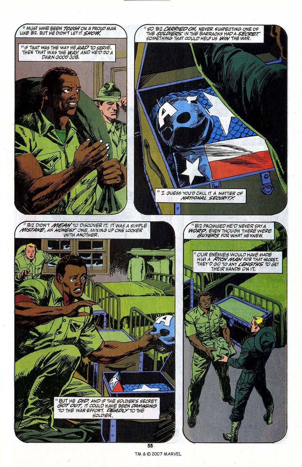Read online Captain America (1968) comic -  Issue # _Annual 13 - 57