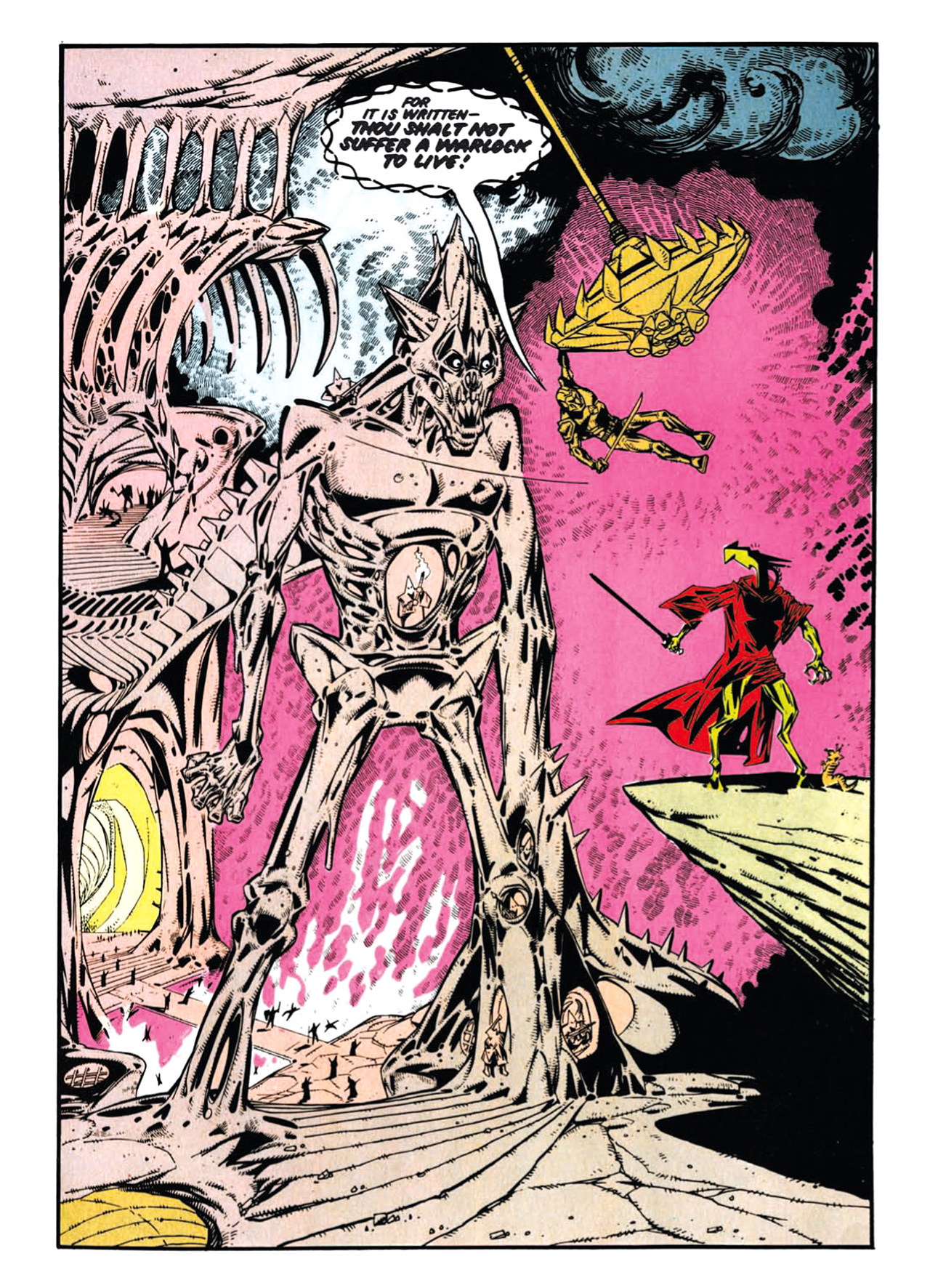 Read online Nemesis The Warlock comic -  Issue # TPB Deviant Edition - 76