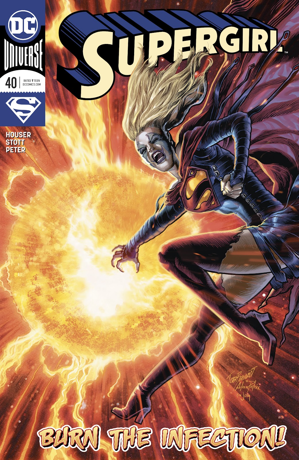 Read online Supergirl (2016) comic -  Issue #40 - 1