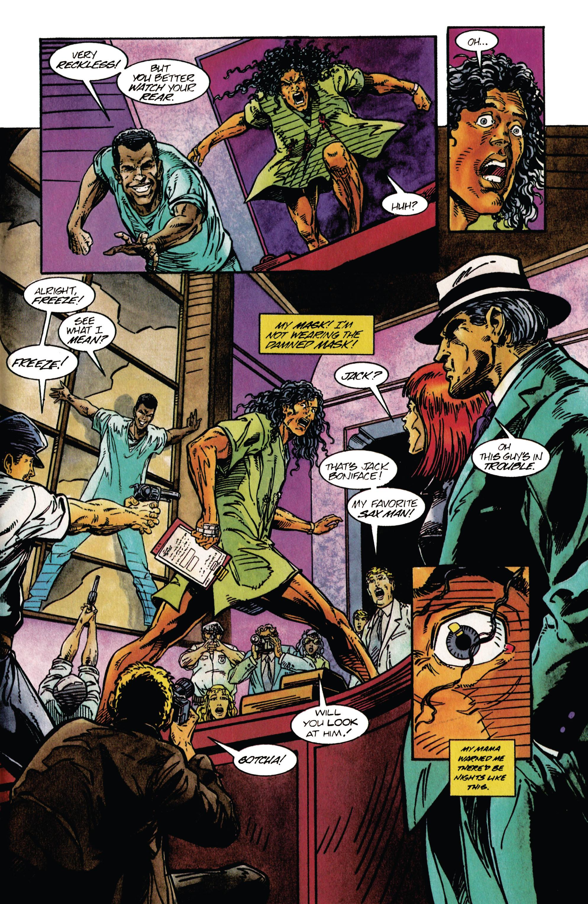 Read online Shadowman (1992) comic -  Issue #27 - 21