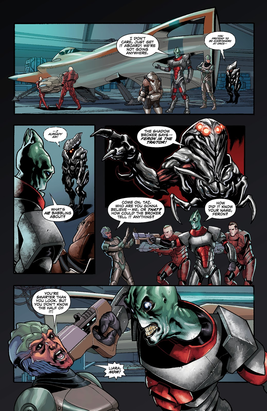 Mass Effect: Redemption Issue #4 #4 - English 16