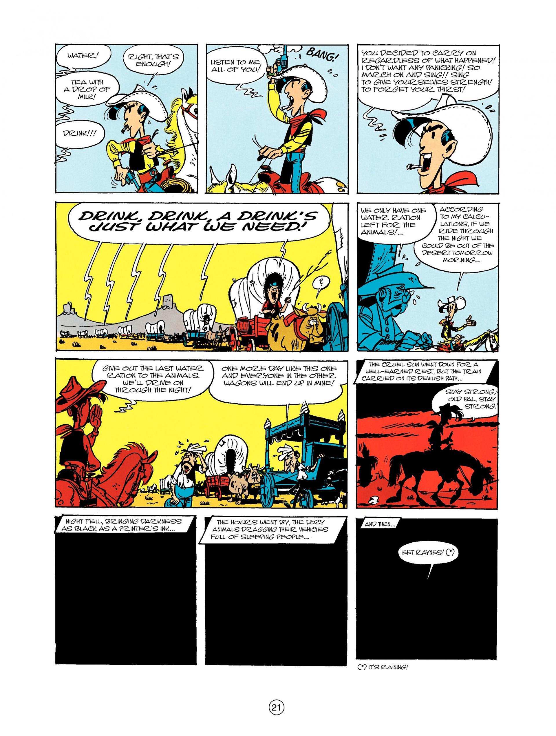 Read online A Lucky Luke Adventure comic -  Issue #9 - 21