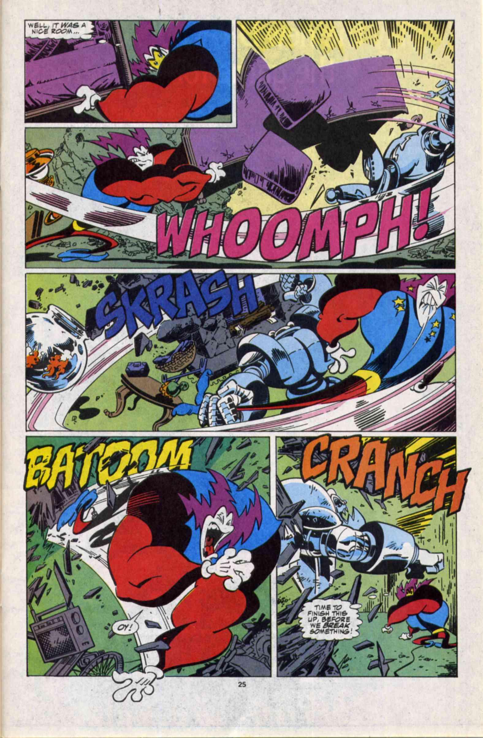Read online Slapstick comic -  Issue #3 - 20